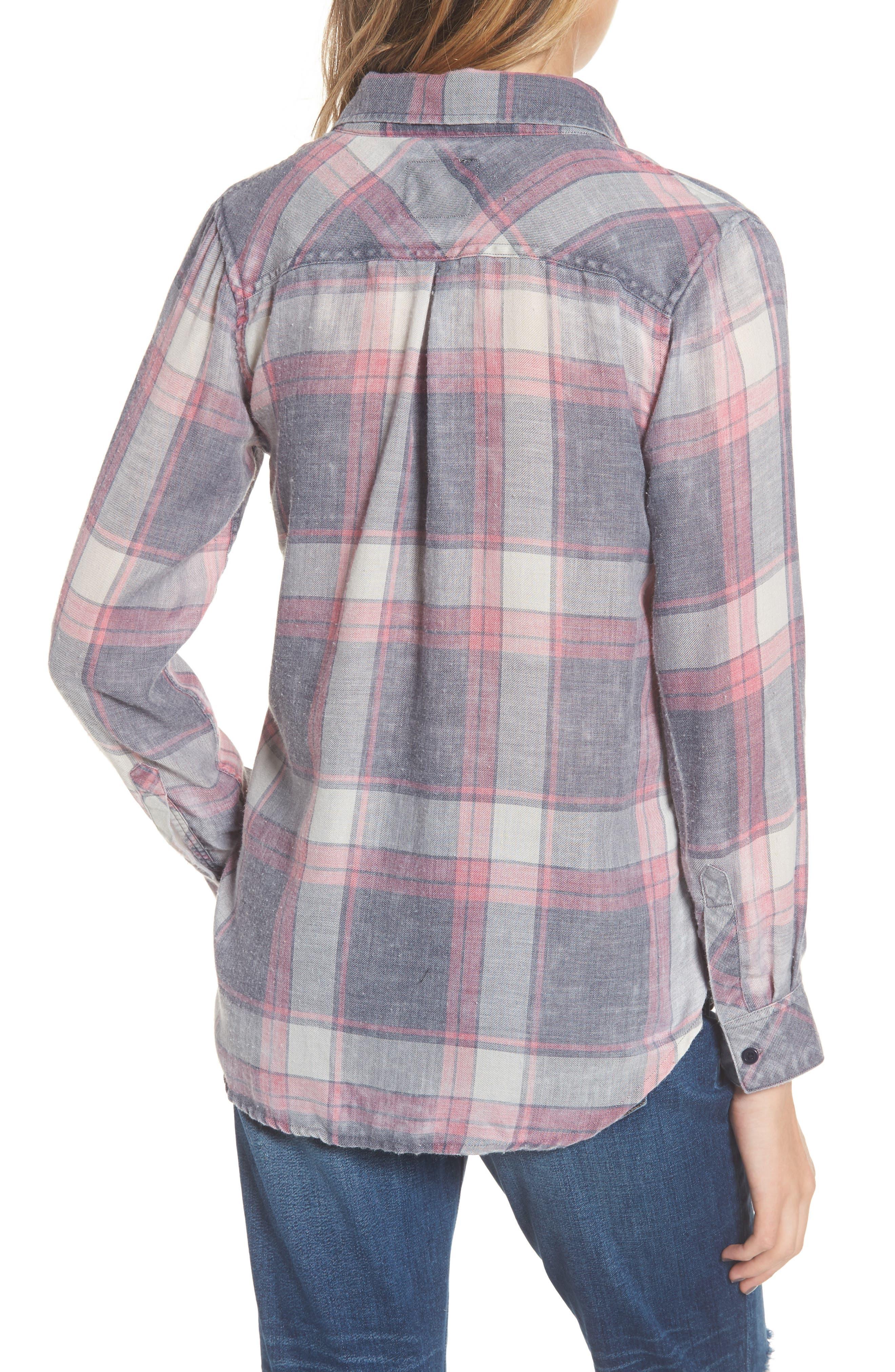 Hunter Plaid Shirt,                             Alternate thumbnail 227, color,