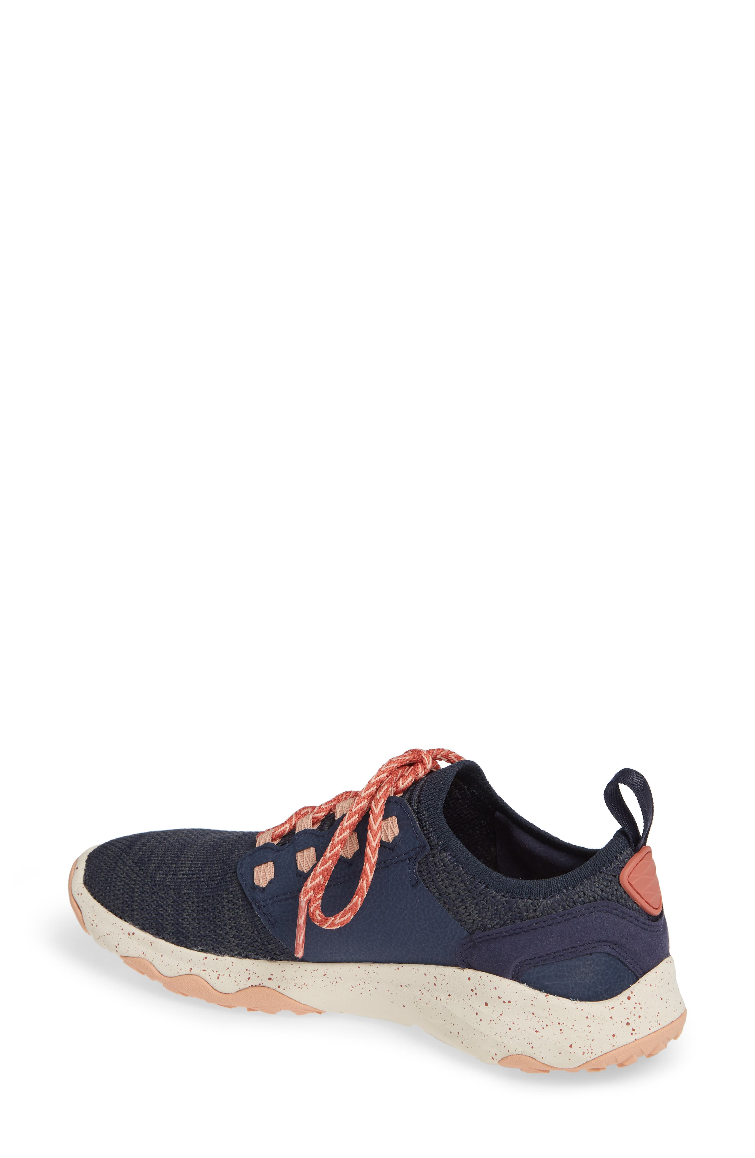 Arrowood 2 Waterproof Knit Sneaker,                             Alternate thumbnail 2, color,                             MIDNIGHT NAVY FABRIC