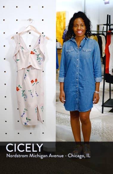 Archibald Cold Shoulder Cutout Detail Dress, sales video thumbnail