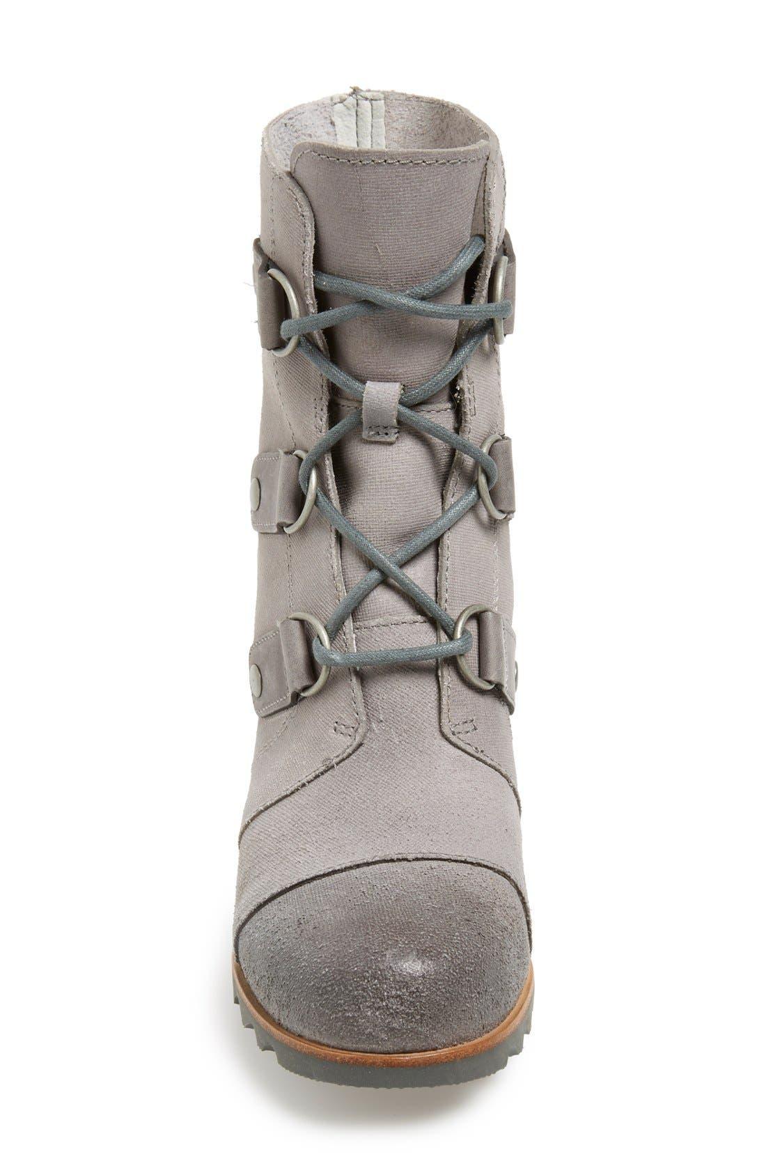 'Joan of Arctic' Waterproof Wedge Boot,                             Alternate thumbnail 21, color,