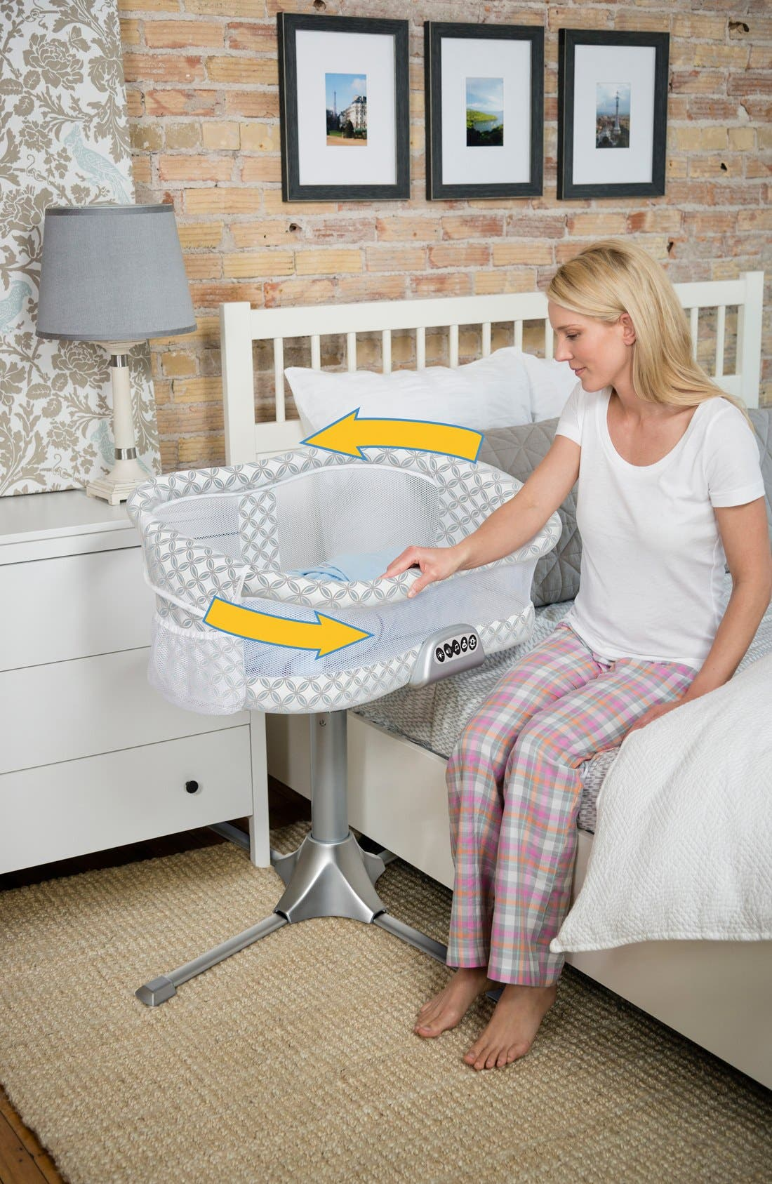 Innovations 'Bassinest' Bedside Swivel Sleeper,                             Alternate thumbnail 7, color,