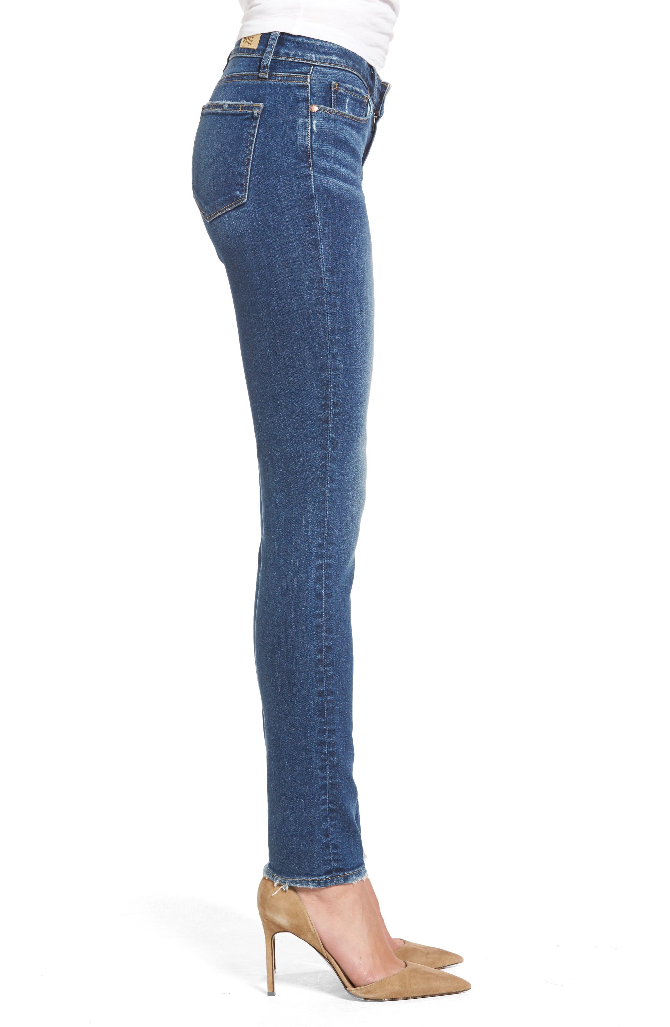 Skyline Skinny Jeans,                             Alternate thumbnail 4, color,                             400