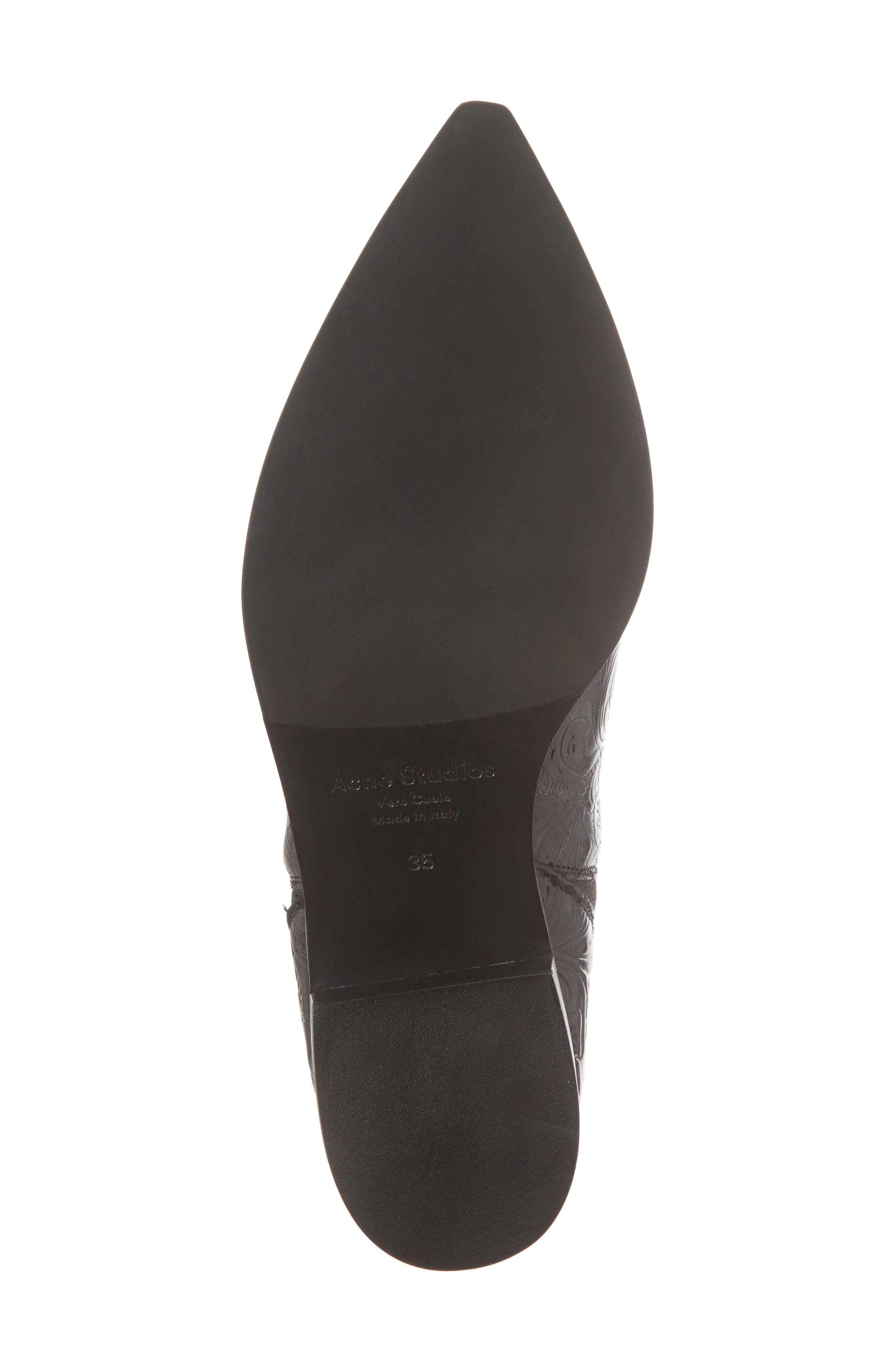 Jensen Pointy Toe Bootie,                             Alternate thumbnail 6, color,                             006