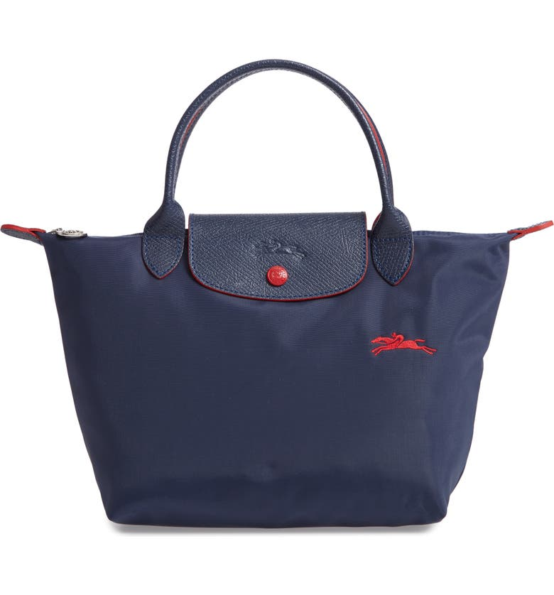 db083c0fde4f Longchamp Le Pliage Club Large Nylon Shoulder Tote Bag In Navy ...
