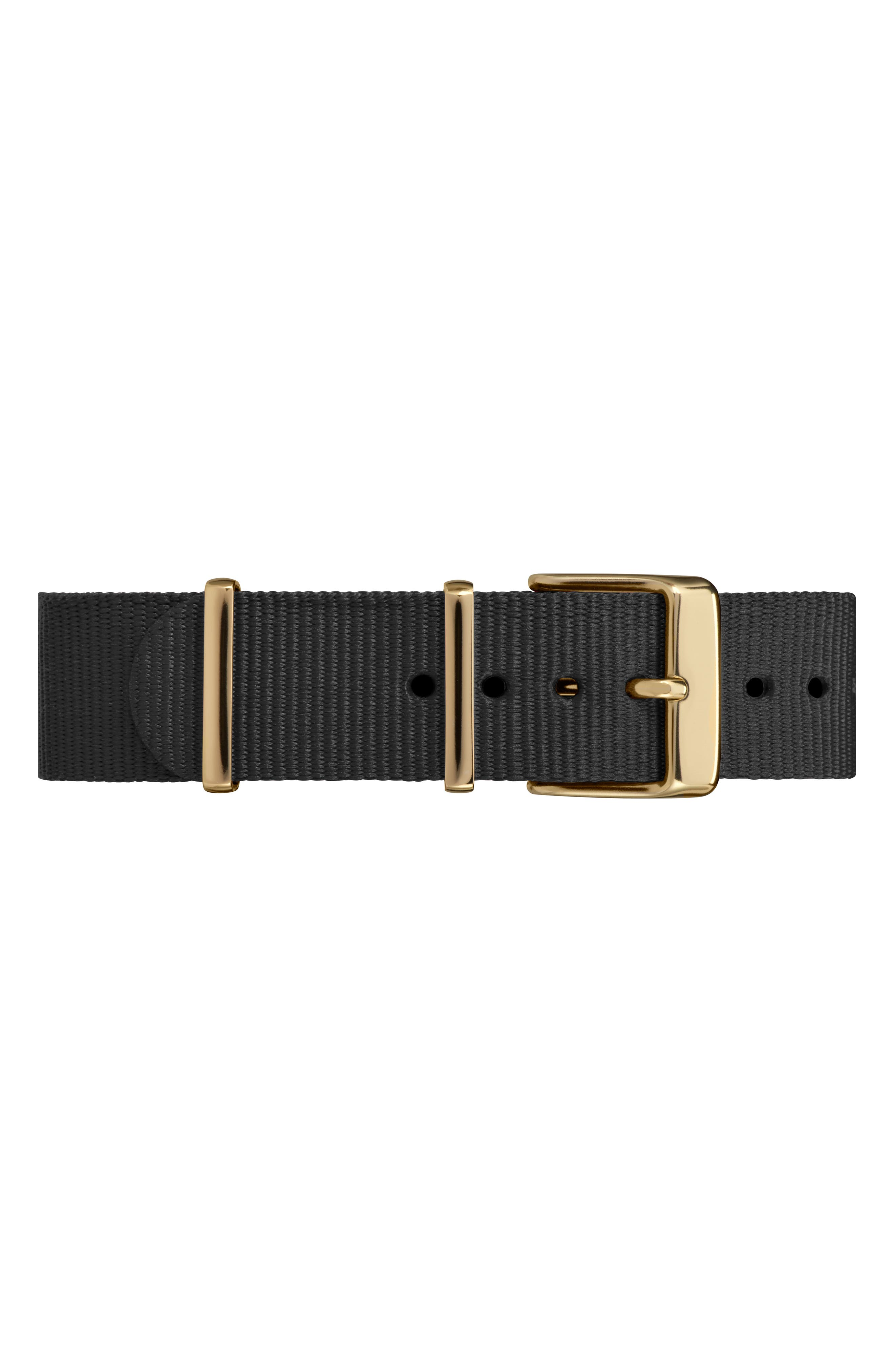 Fairfield Nylon Strap Watch, 37mm,                             Alternate thumbnail 7, color,