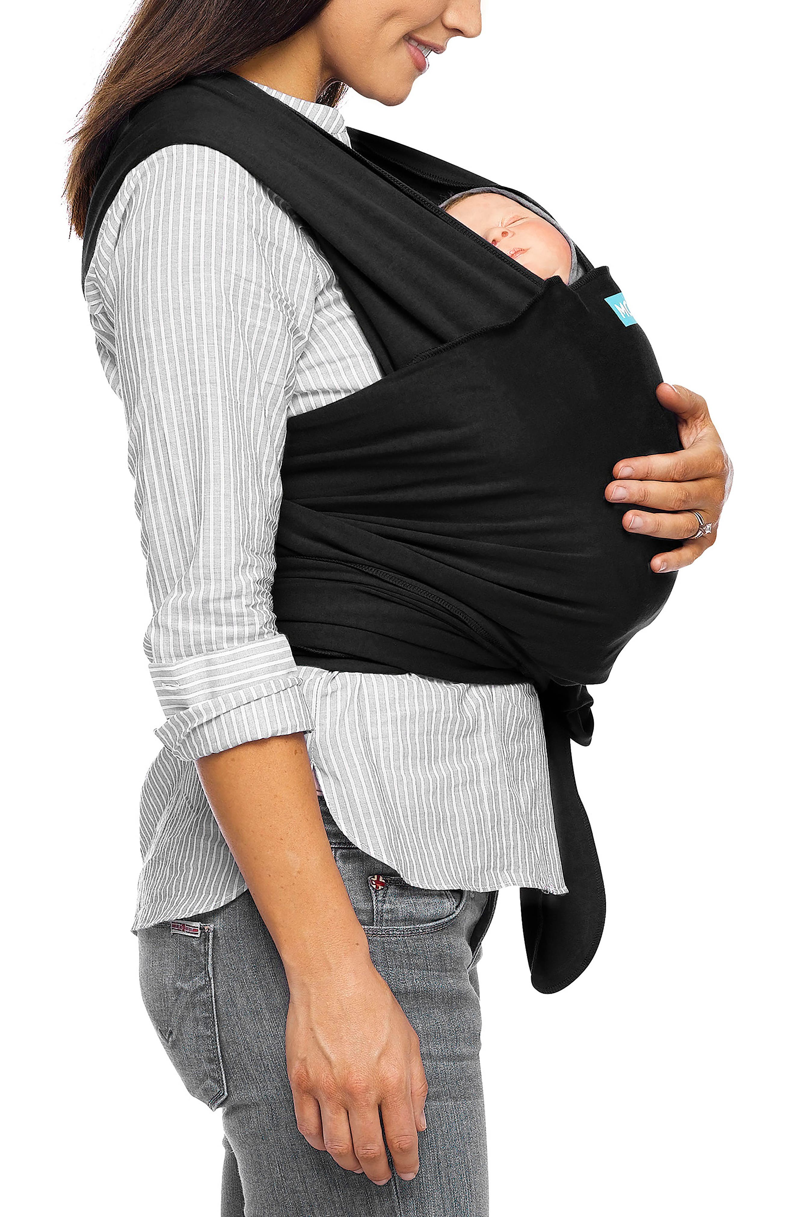 Classic Baby Carrier,                             Alternate thumbnail 2, color,                             BLACK