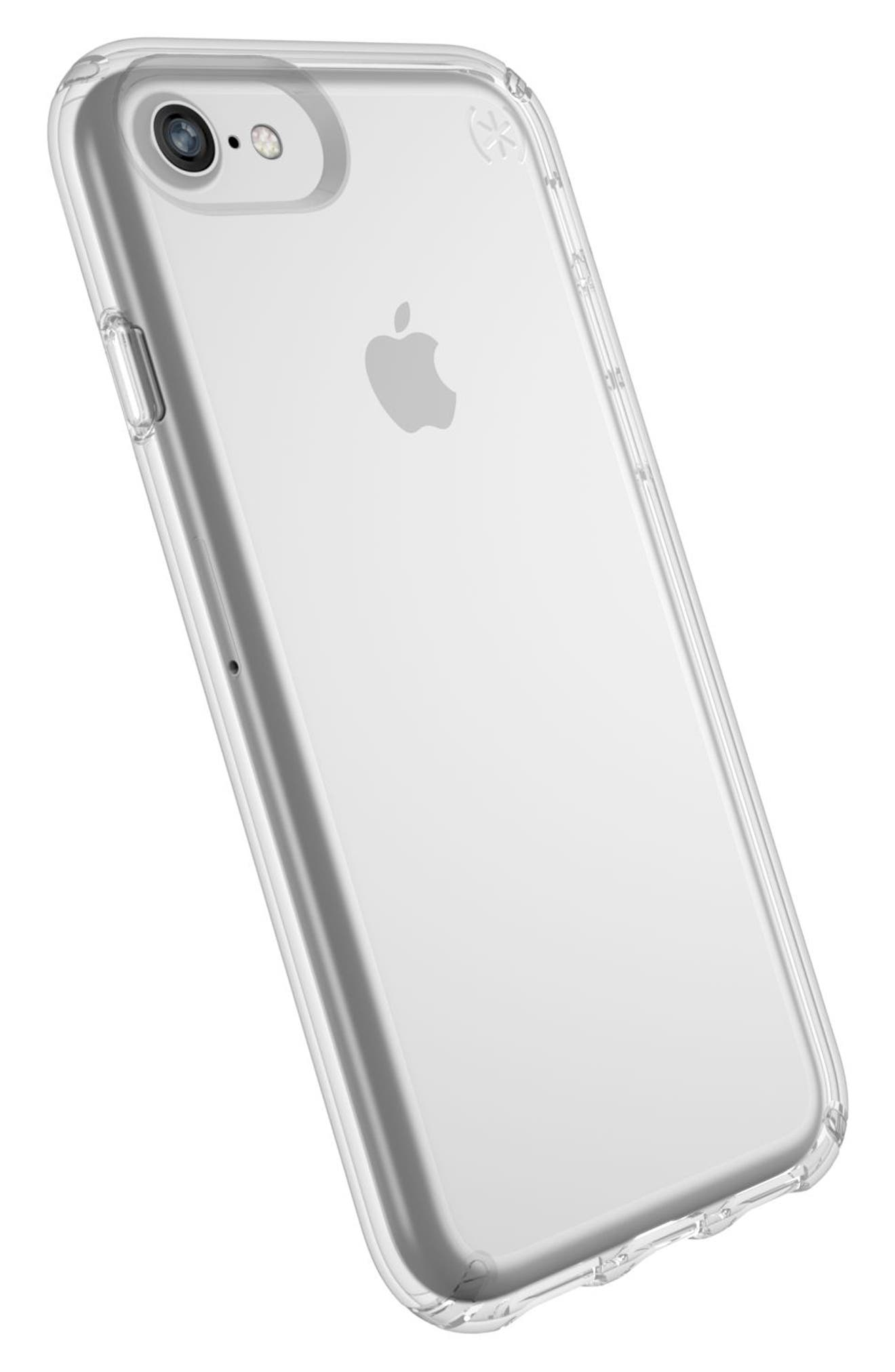 Transparent iPhone 6/6s/7/8 Case,                             Alternate thumbnail 8, color,                             CLEAR/ CLEAR