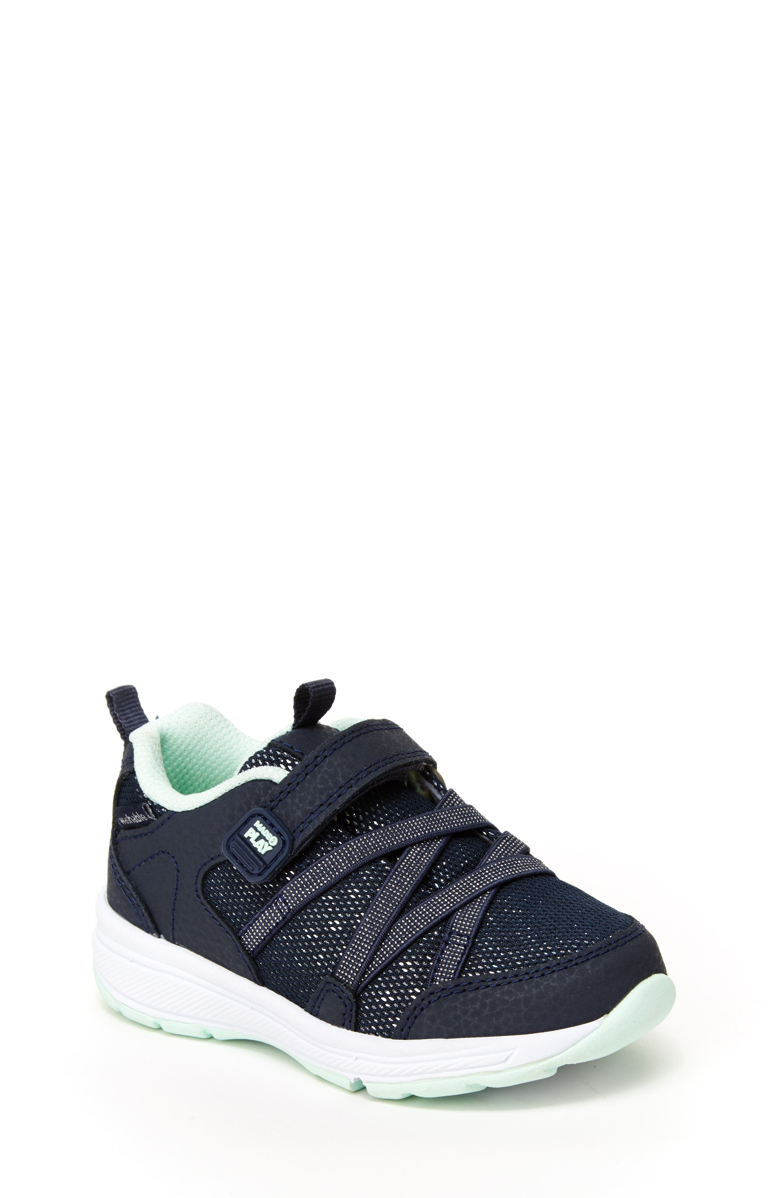 Emmy Made2Play<sup>®</sup> Washable Sneaker,                             Main thumbnail 1, color,                             NAVY