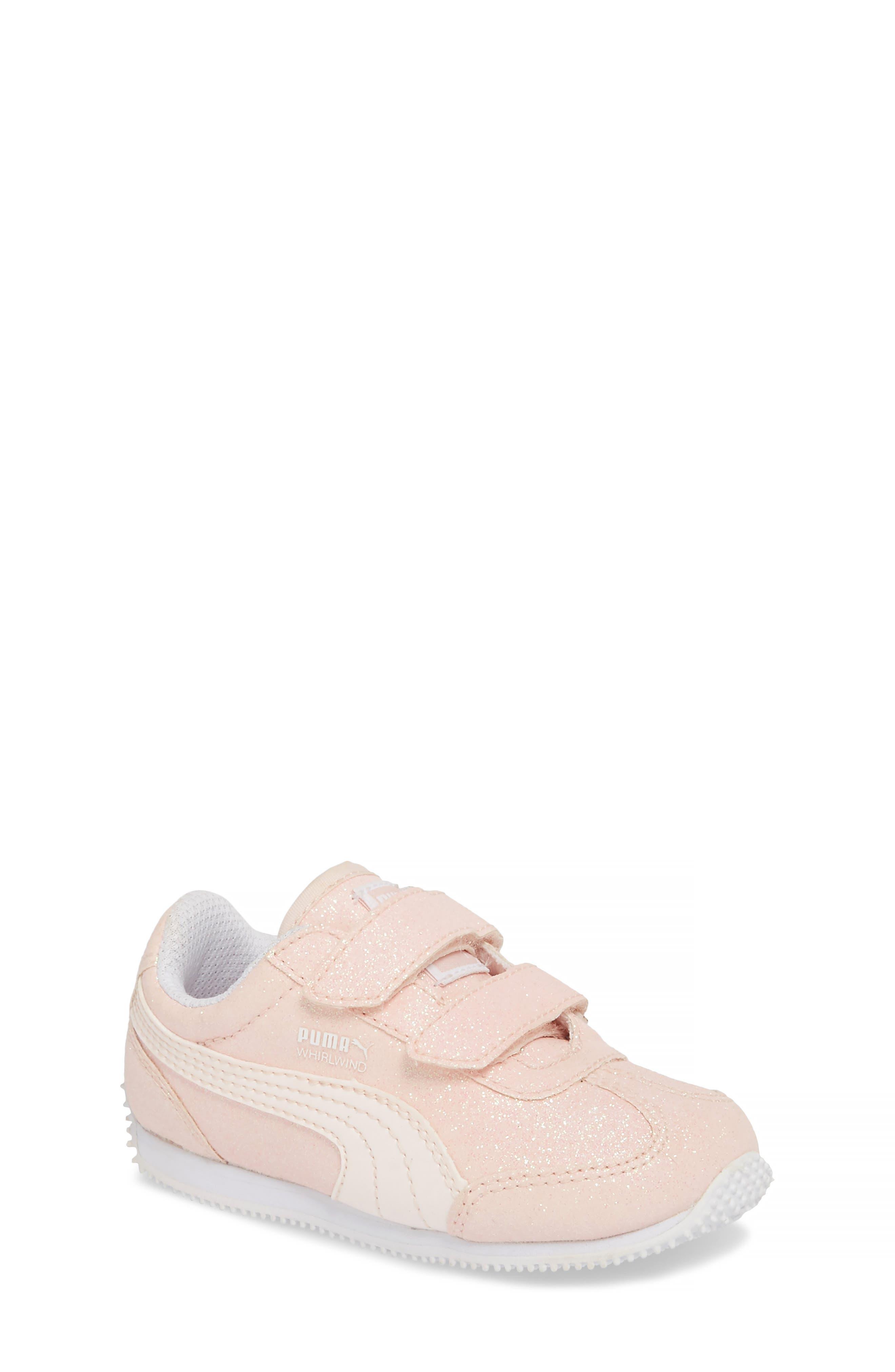 Girls Puma Whirlwind Glitz Sneaker Size 3 M  Pink