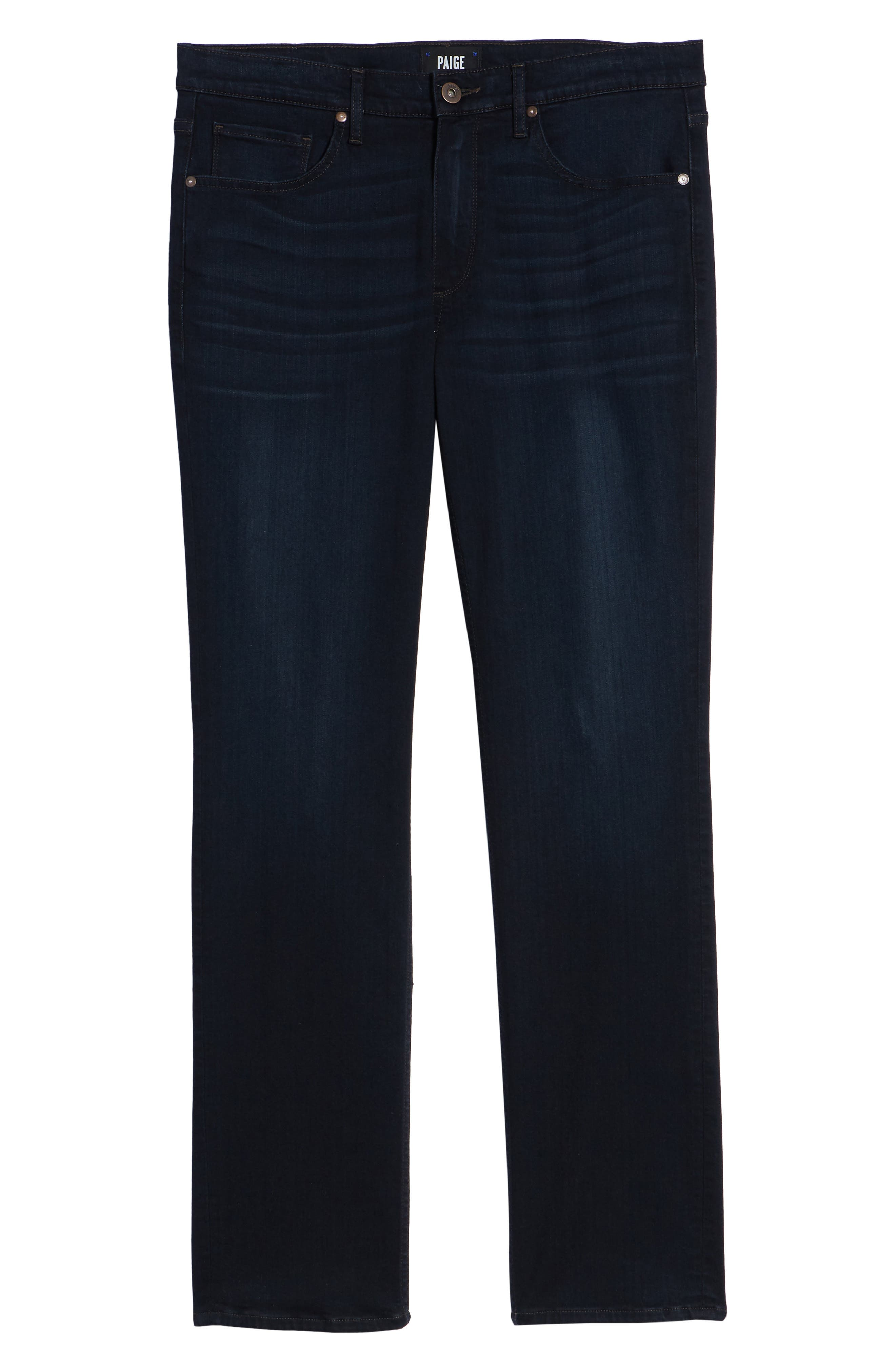 Normandie Straight Leg Jeans,                             Alternate thumbnail 6, color,                             FLEET