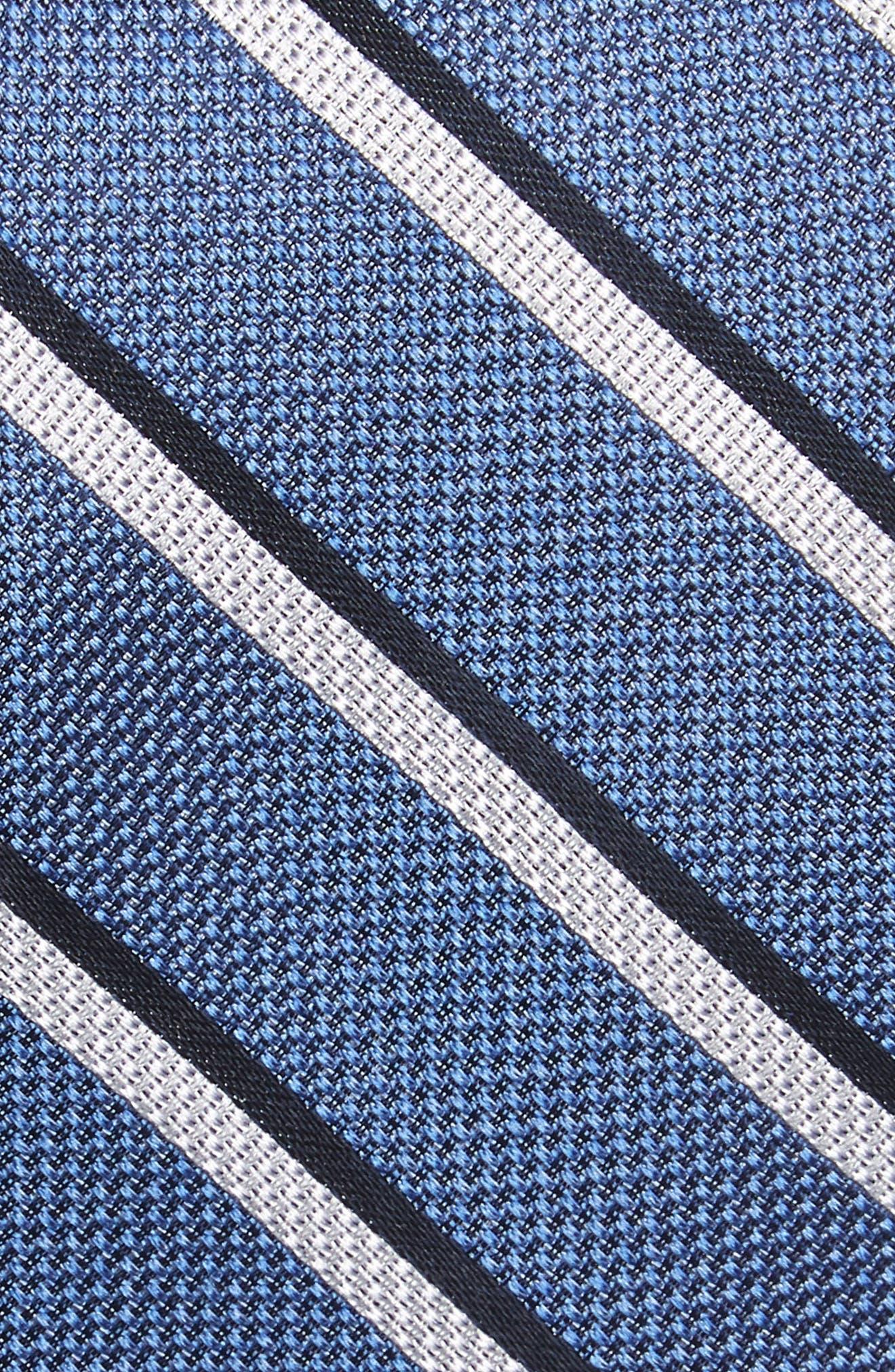 Koehler Stripe Silk Skinny Tie,                             Alternate thumbnail 2, color,                             400