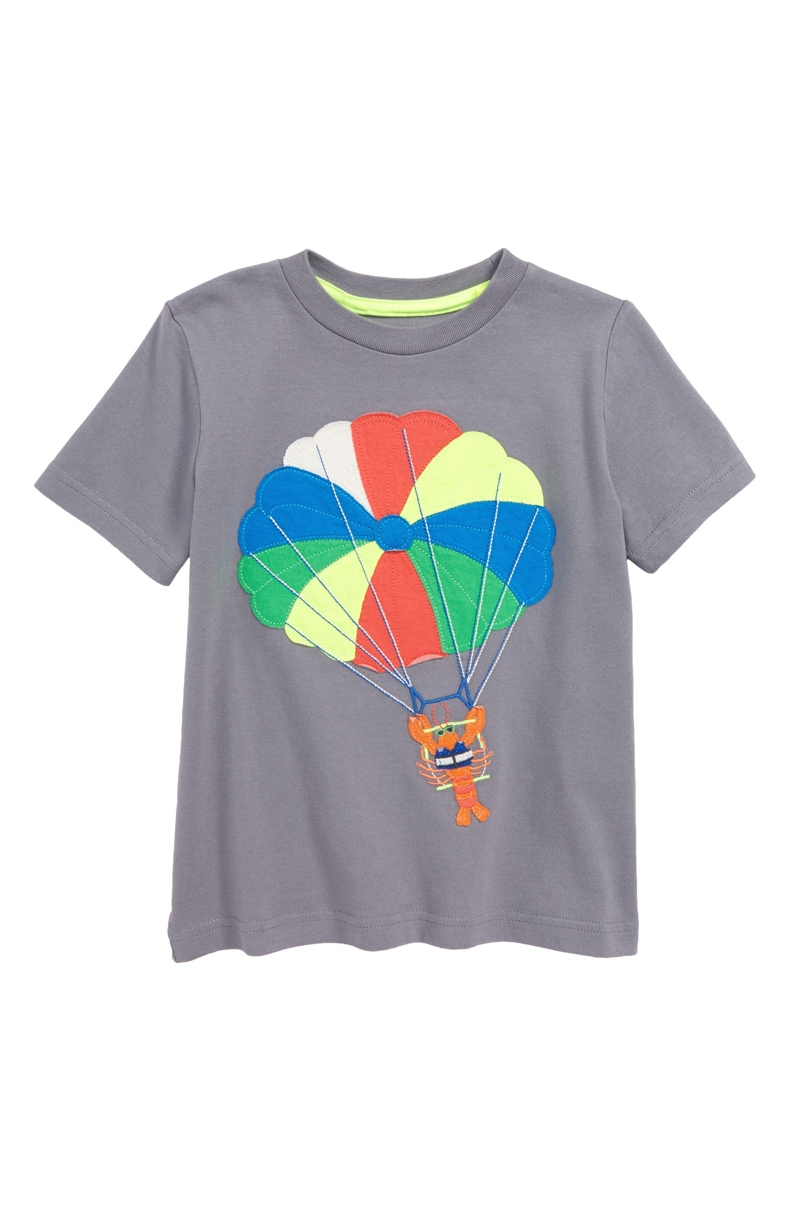 Beach Sports Appliqué Parasailing T-Shirt,                             Main thumbnail 1, color,                             062