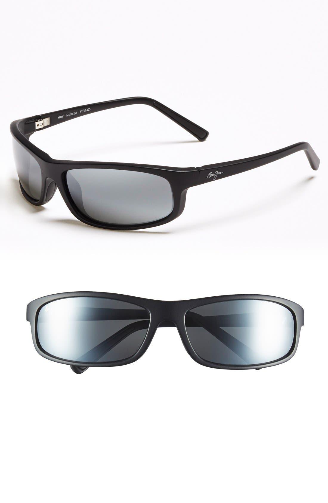 MAUI JIM 'Legacy - PolarizedPlus<sup>®</sup>2' 61mm Polarized Sunglasses, Main, color, 001
