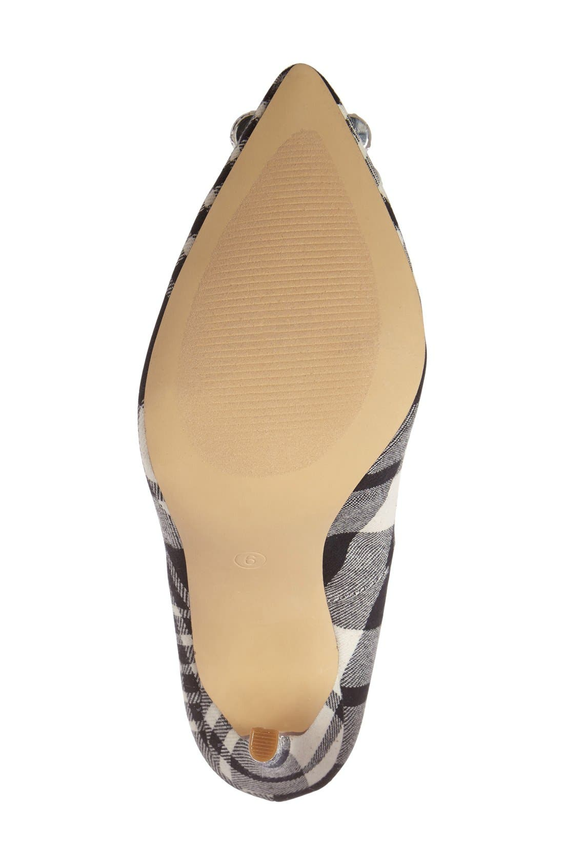 Crystal Pointy Toe Pump,                             Alternate thumbnail 4, color,                             001
