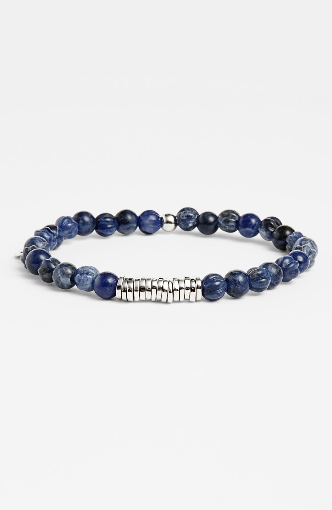 Bead Bracelet,                         Main,                         color, SODALITE