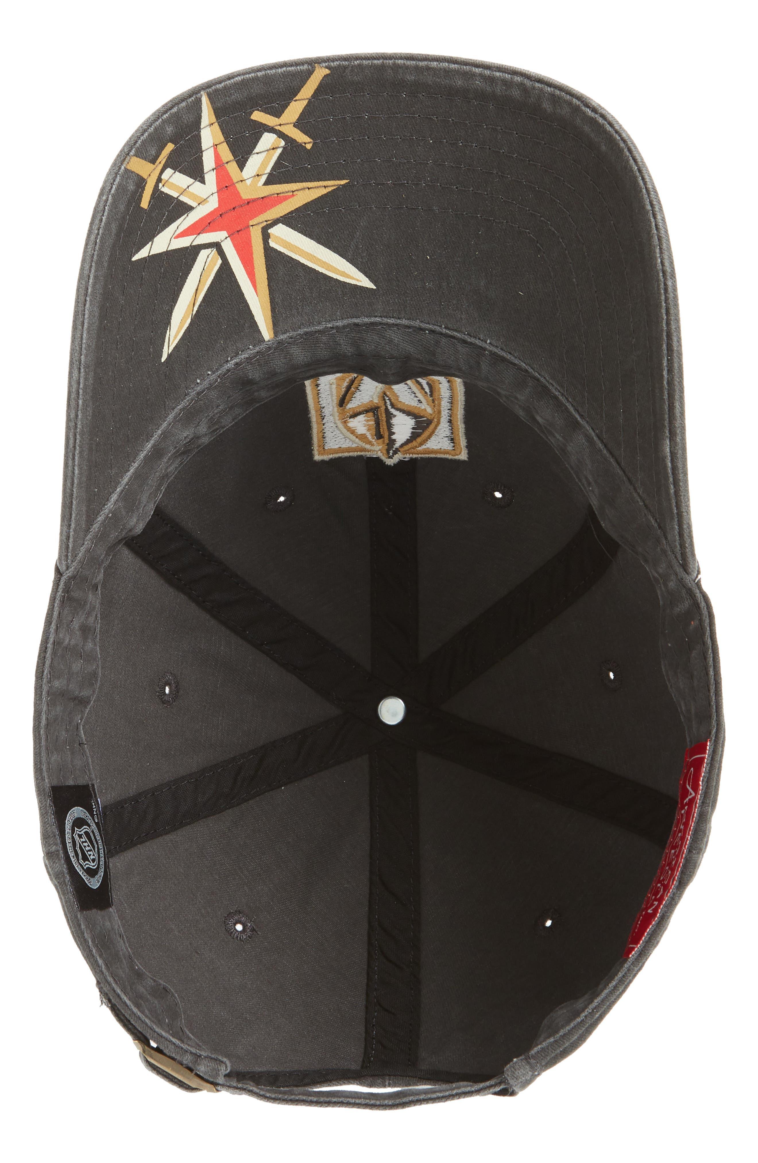 New Raglan Las Vegas Golden Knights Baseball Cap,                             Alternate thumbnail 2, color,                             GOLDEN KNIGHTS