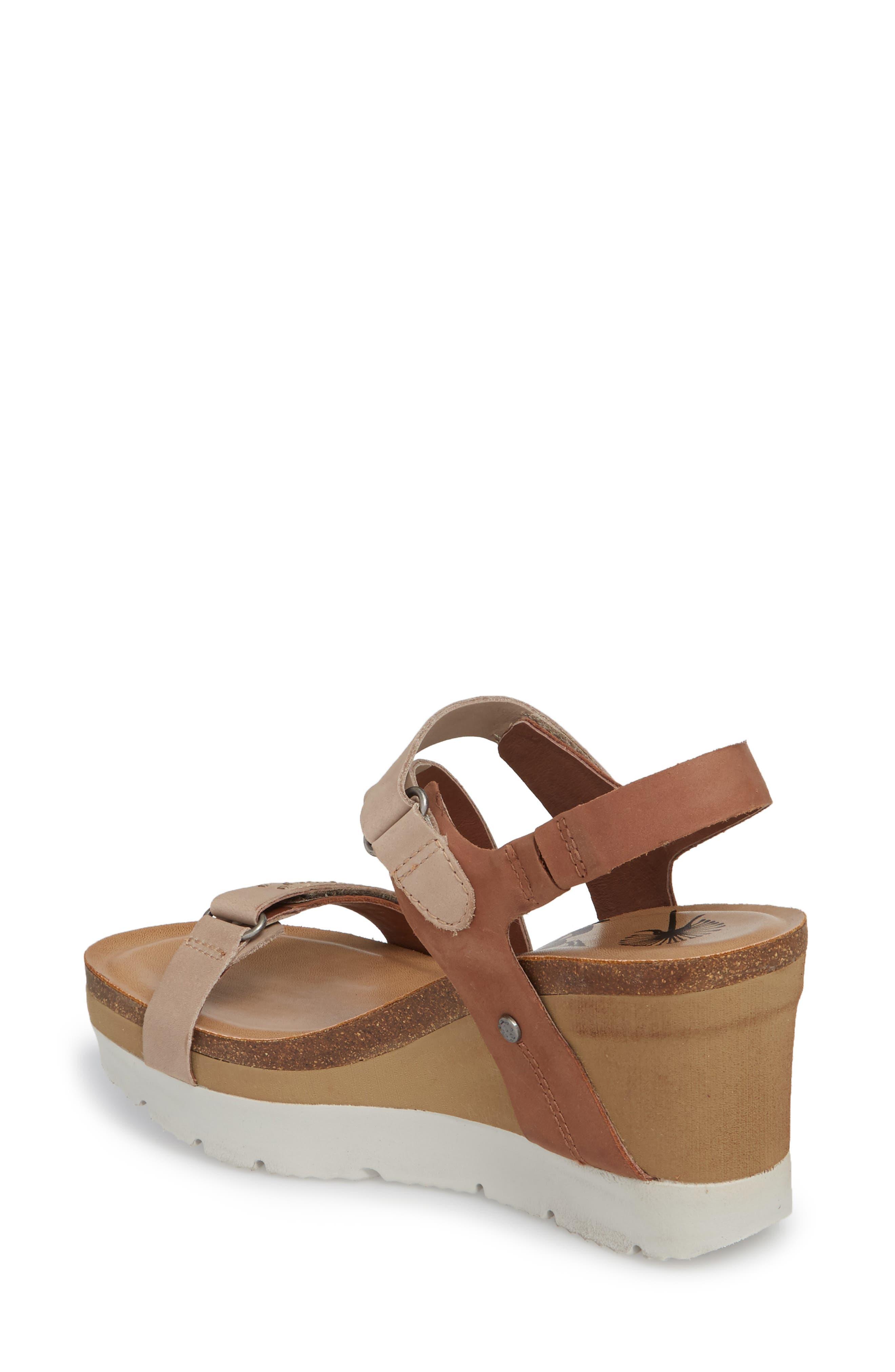 Wavey Wedge Sandal,                             Alternate thumbnail 2, color,                             214
