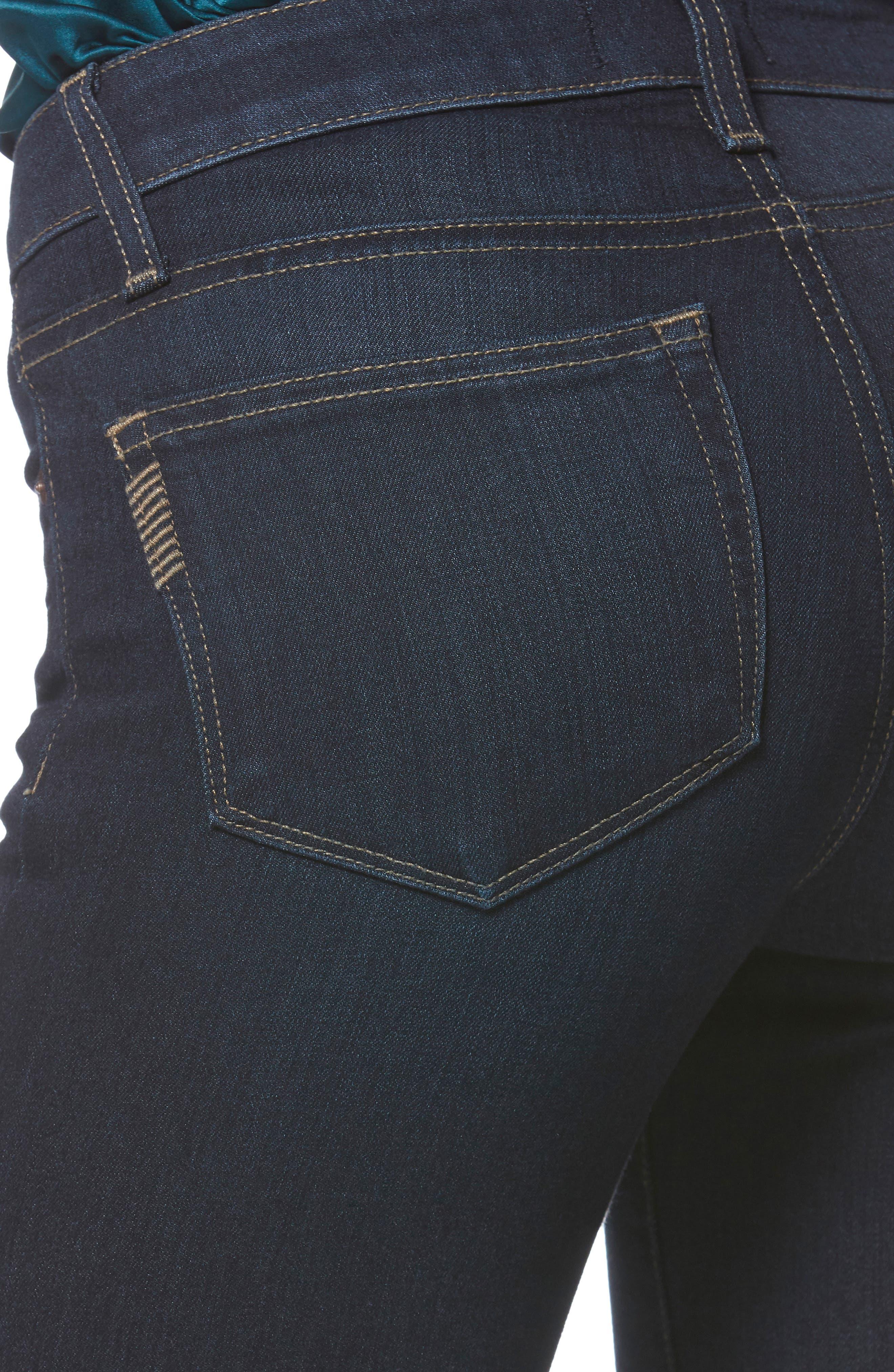 Transcend - Manhattan Bootcut Jeans,                             Alternate thumbnail 4, color,                             SANIA