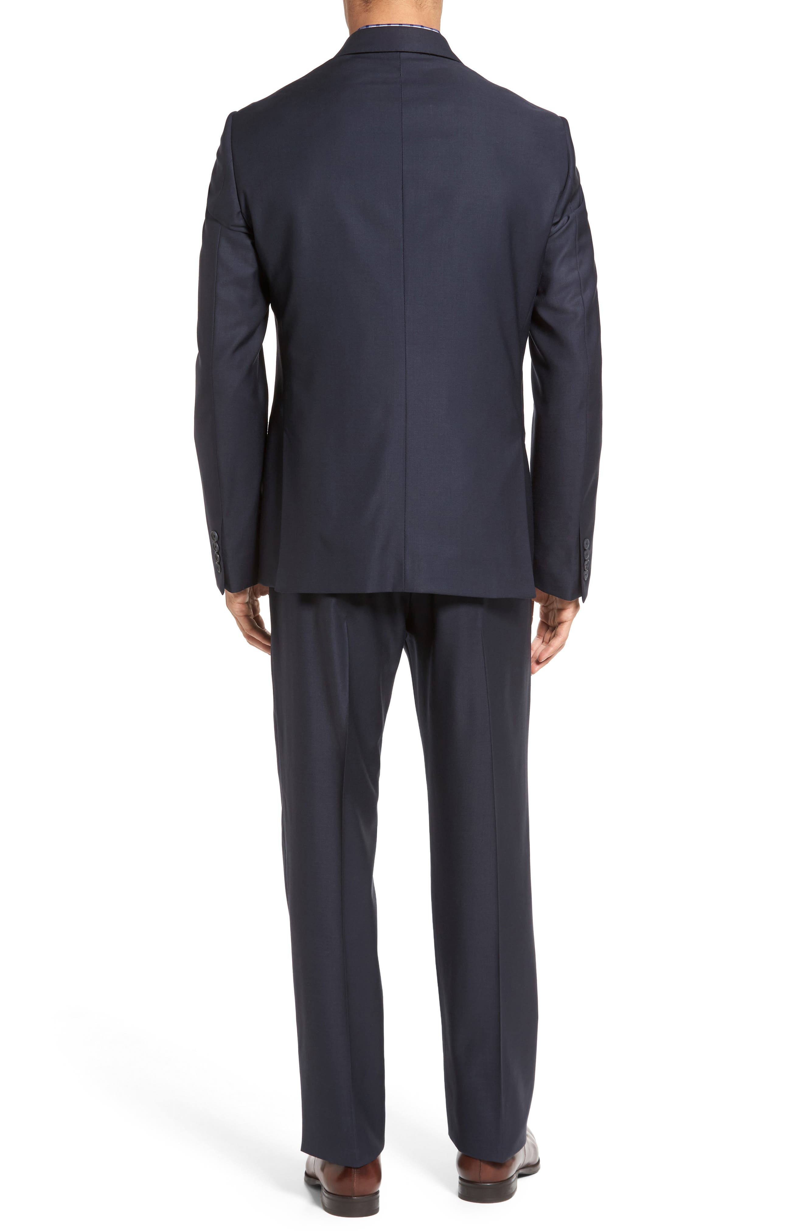 Classic Fit Solid Wool Suit,                             Alternate thumbnail 12, color,