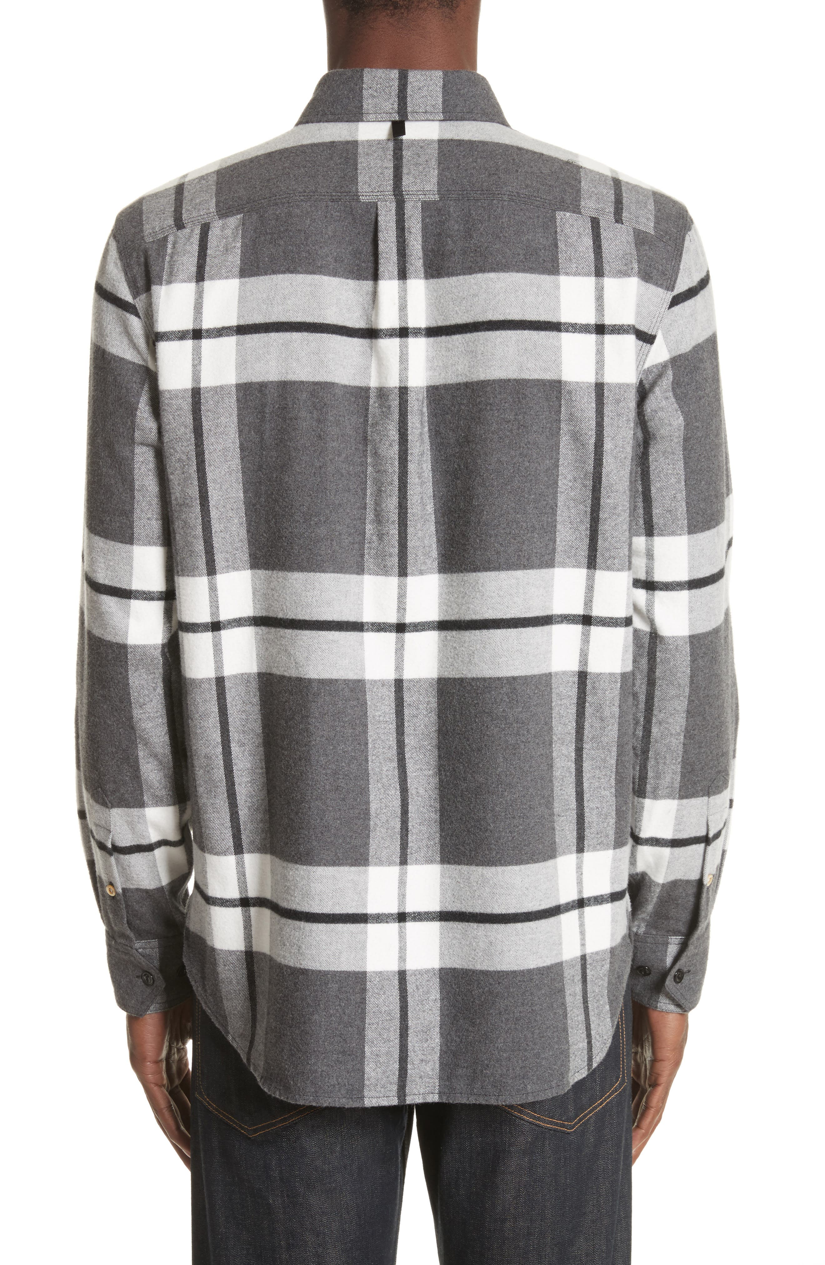 rag & bbone Jack Plaid Shirt Jacket,                             Alternate thumbnail 3, color,                             068
