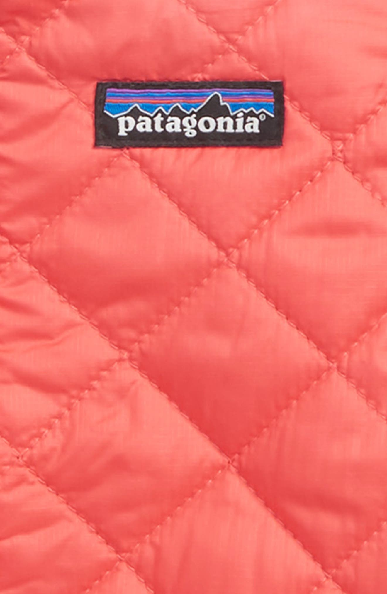 Nano Puff<sup>®</sup> Quilted Water Resistant Jacket,                             Alternate thumbnail 2, color,                             SPICED CORAL