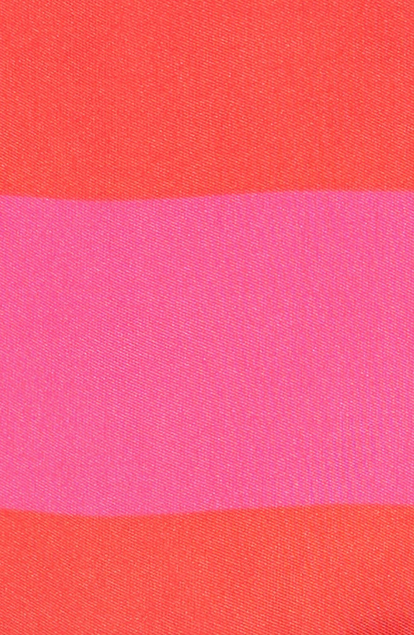 carolyn stripe party dress,                             Alternate thumbnail 3, color,                             650