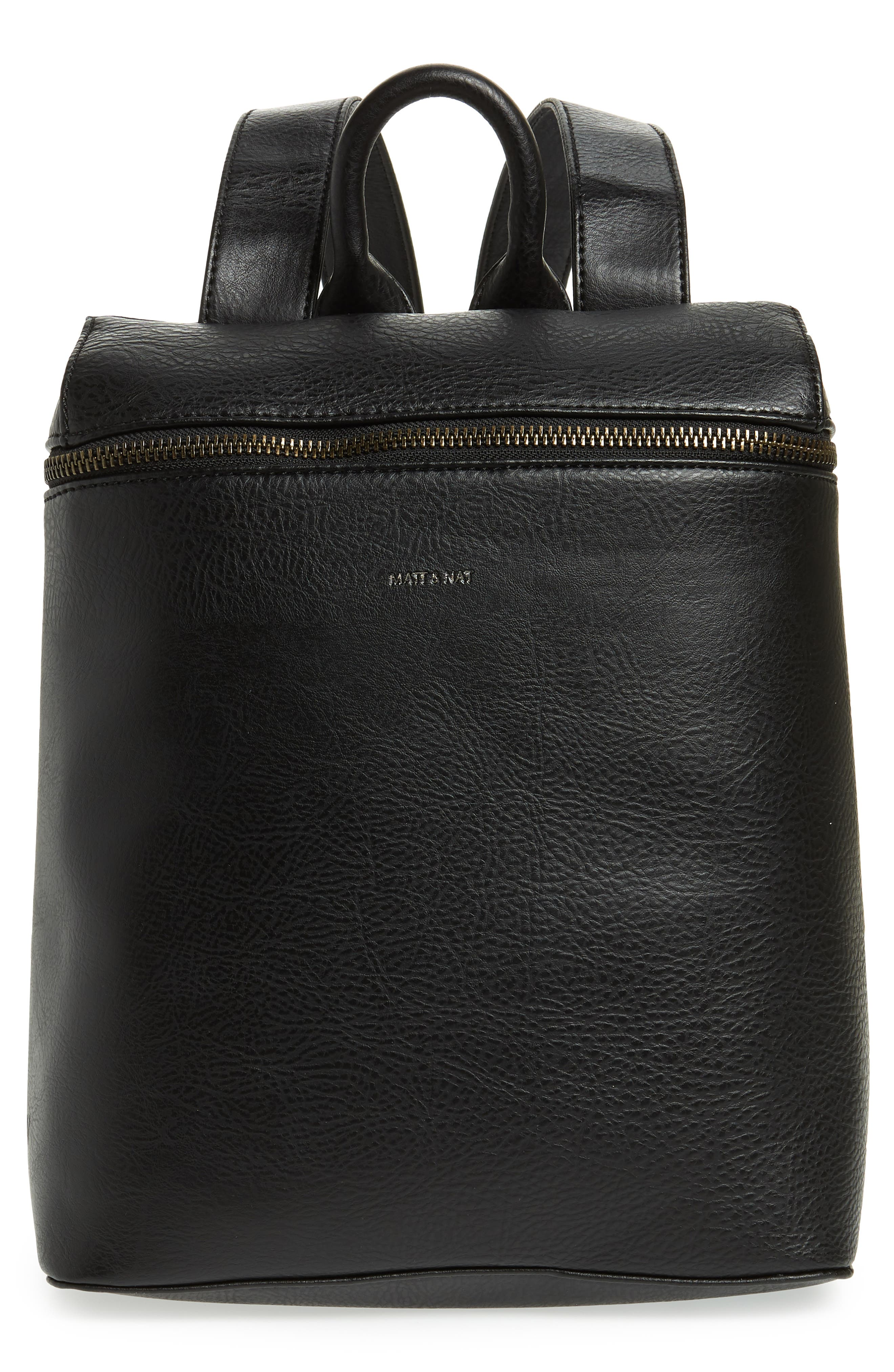 Rahi Faux Leather Backpack,                         Main,                         color, 001