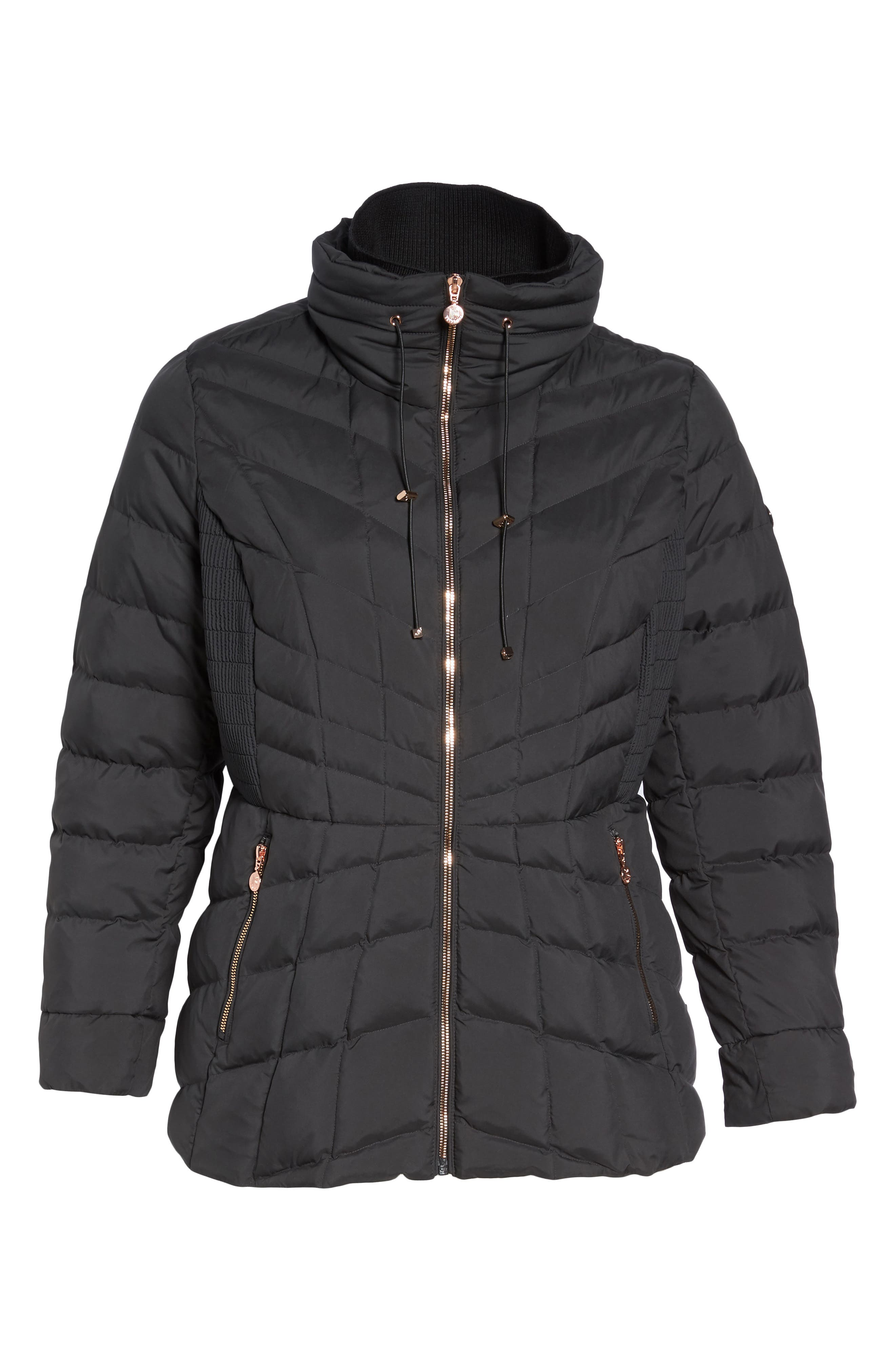 Packable Water Resistant Down & PrimaLoft<sup>®</sup> Coat,                             Alternate thumbnail 9, color,