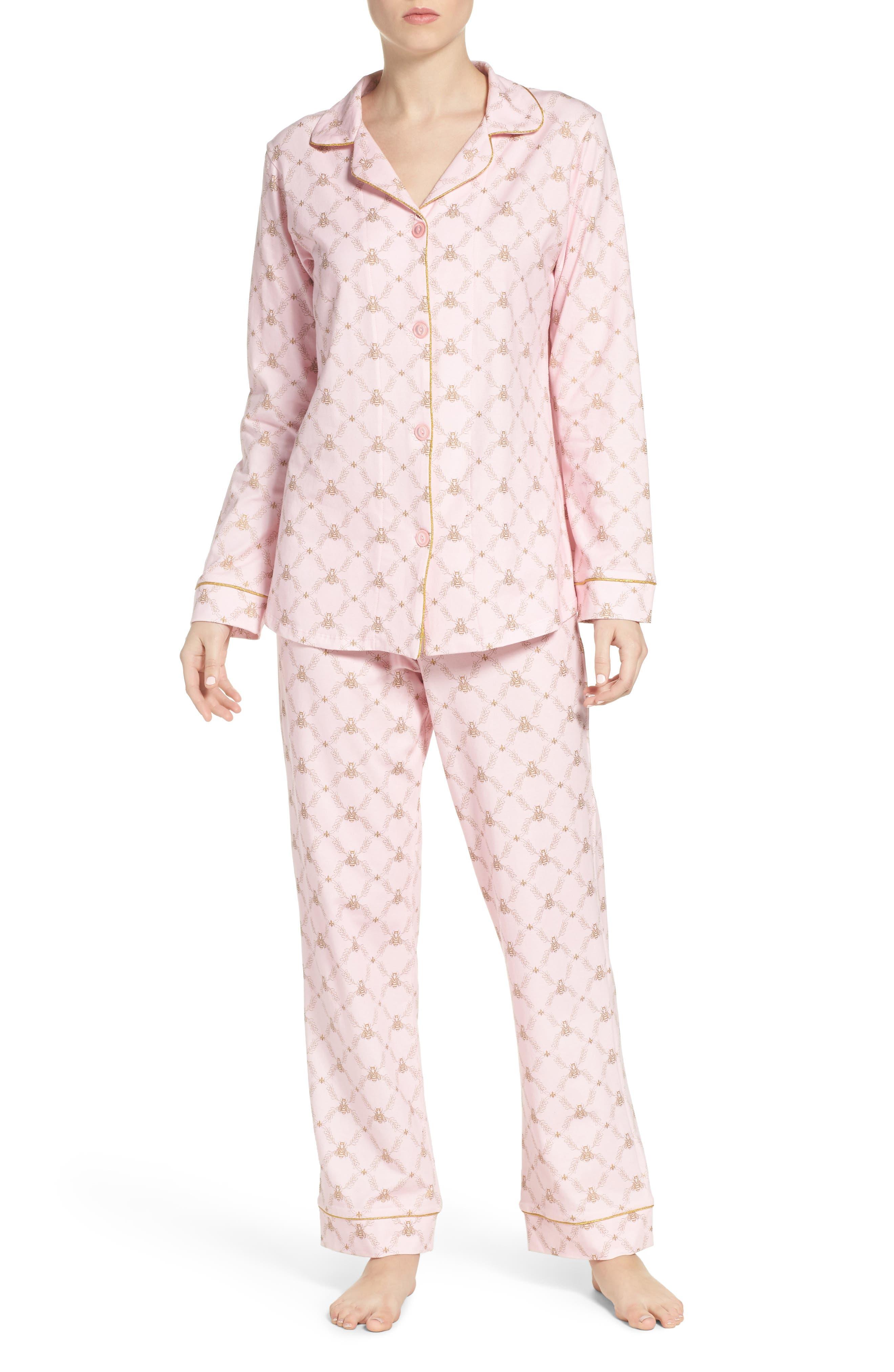 Print Pajamas,                             Main thumbnail 1, color,                             955