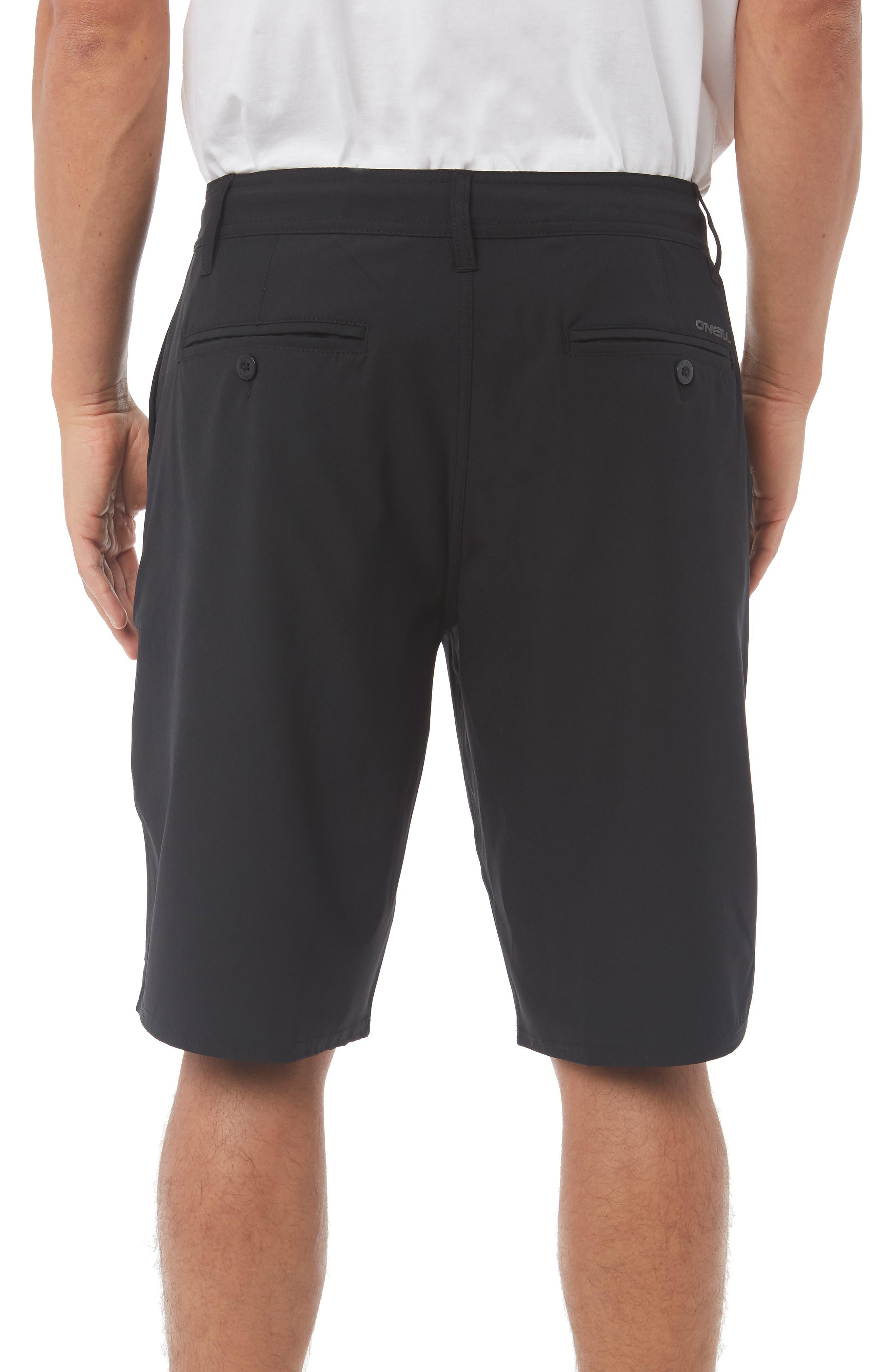 Loaded Hybrid Shorts,                             Alternate thumbnail 2, color,                             BLACK