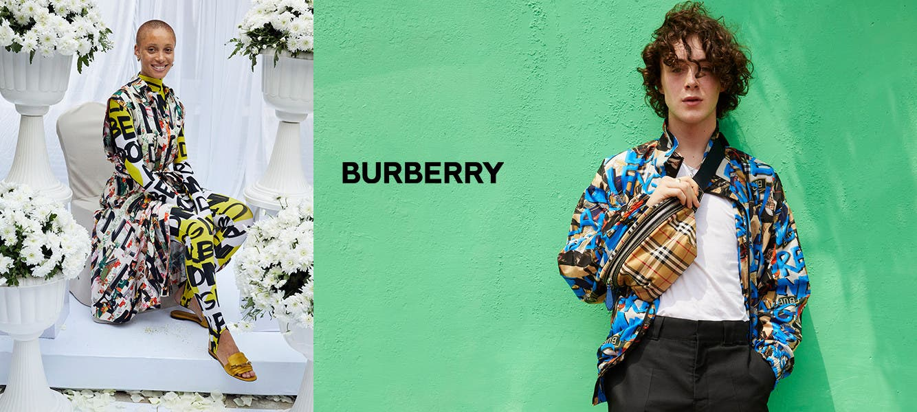 Burberry for women and men.