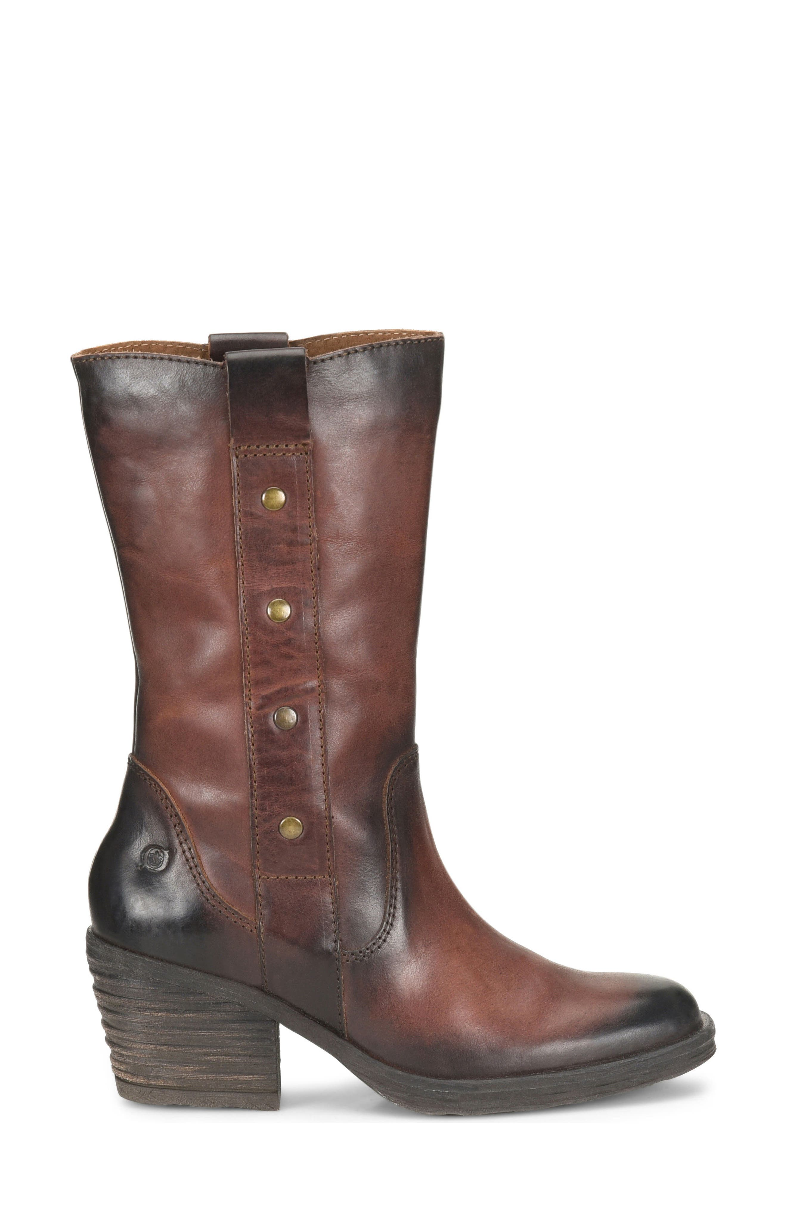 Copper Studded Boot,                             Alternate thumbnail 3, color,                             200