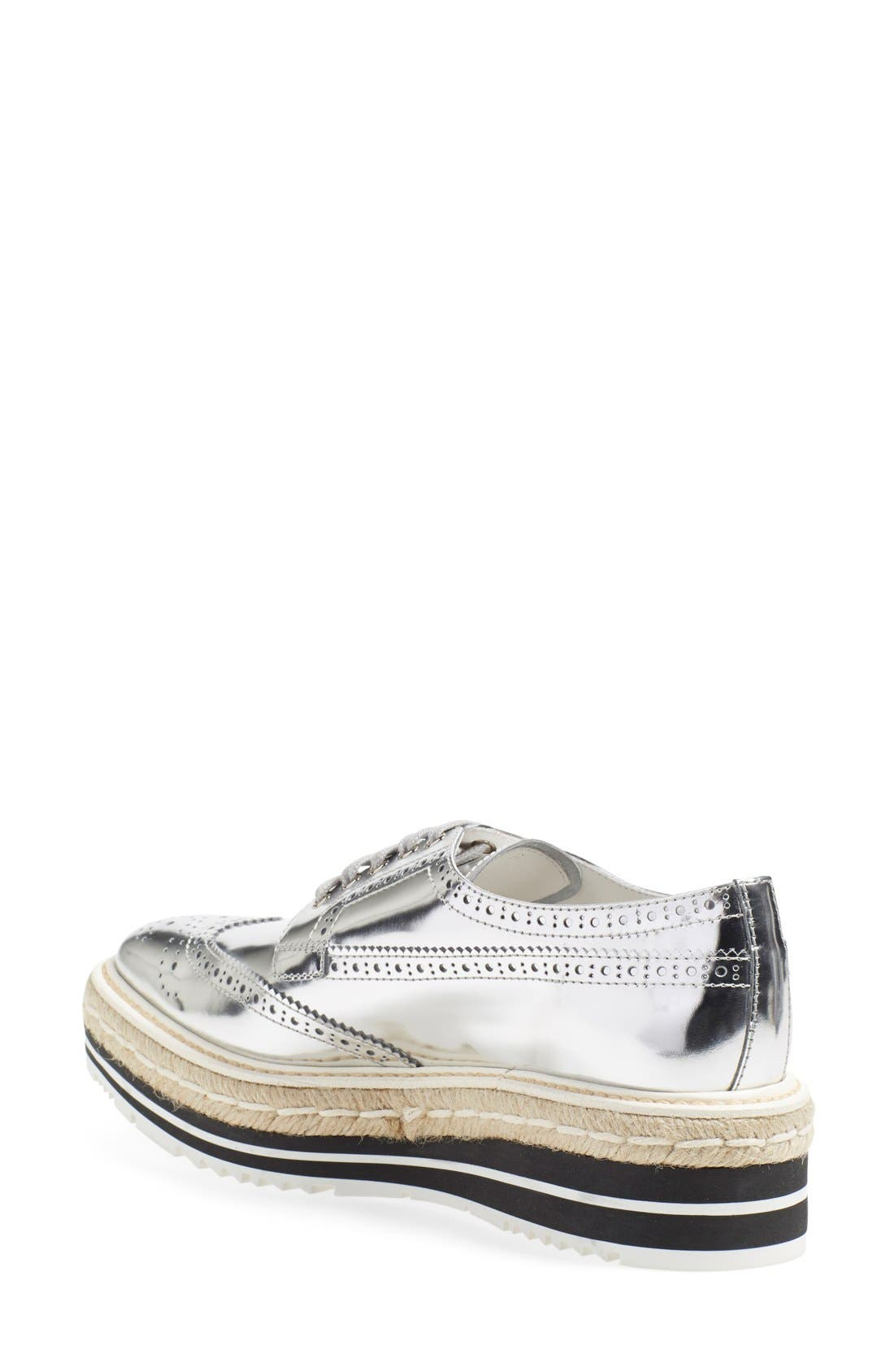 Microsole Espadrille Oxford,                             Alternate thumbnail 7, color,