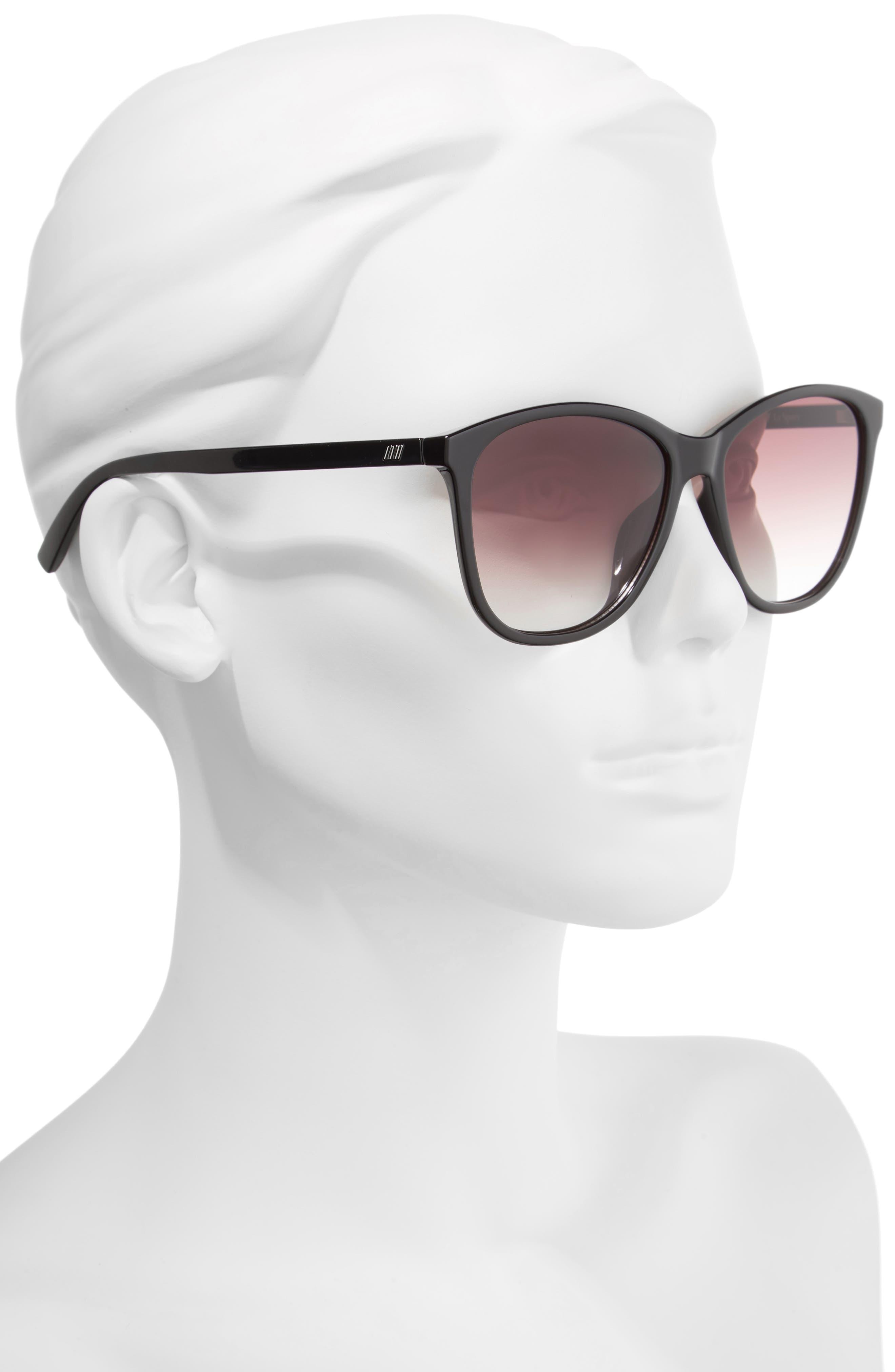 Entitlement 57mm Sunglasses,                             Alternate thumbnail 2, color,                             001