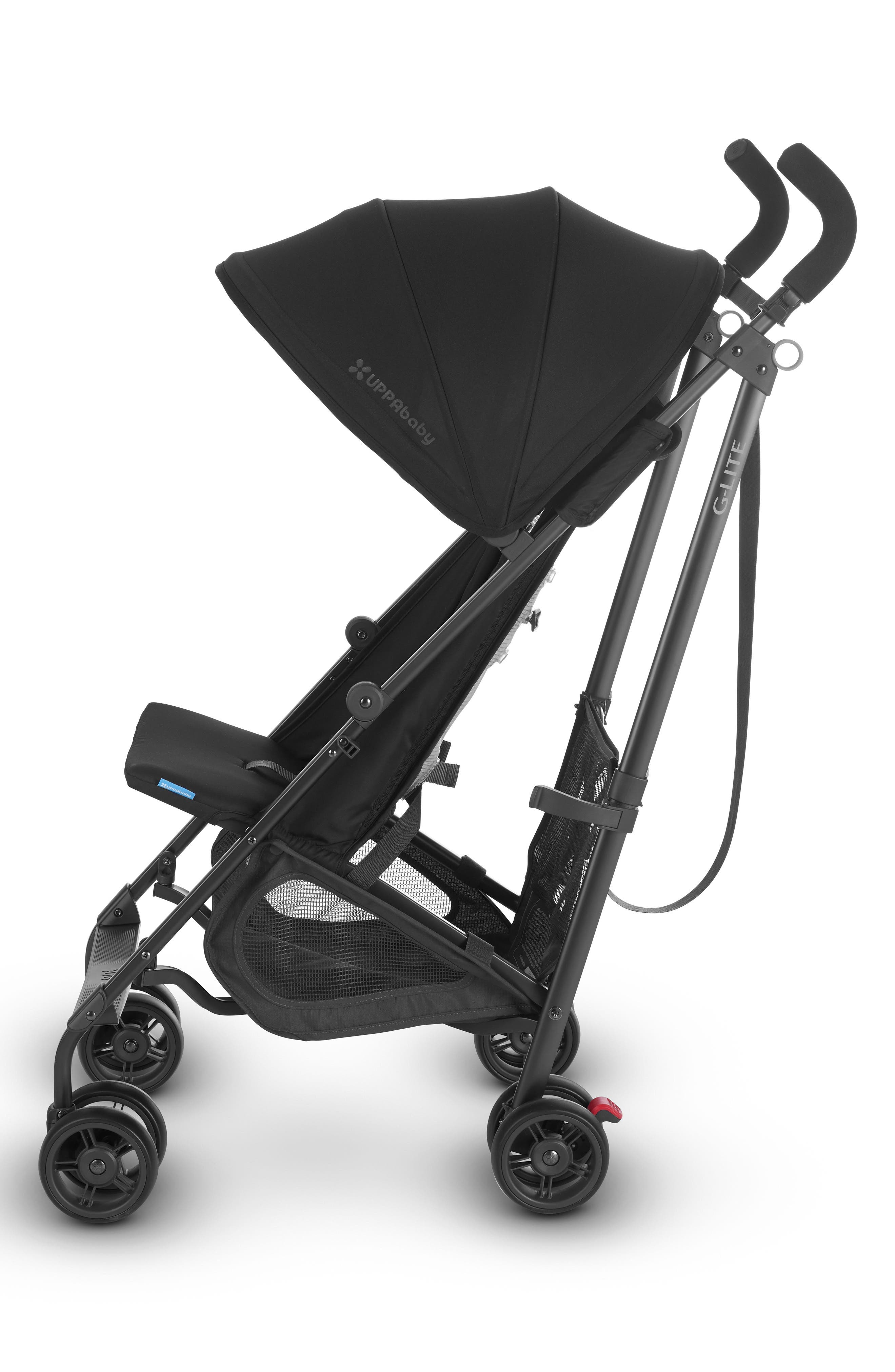 G-LITE 2018 Stroller,                             Alternate thumbnail 3, color,                             JAKE BLACK/ CARBON