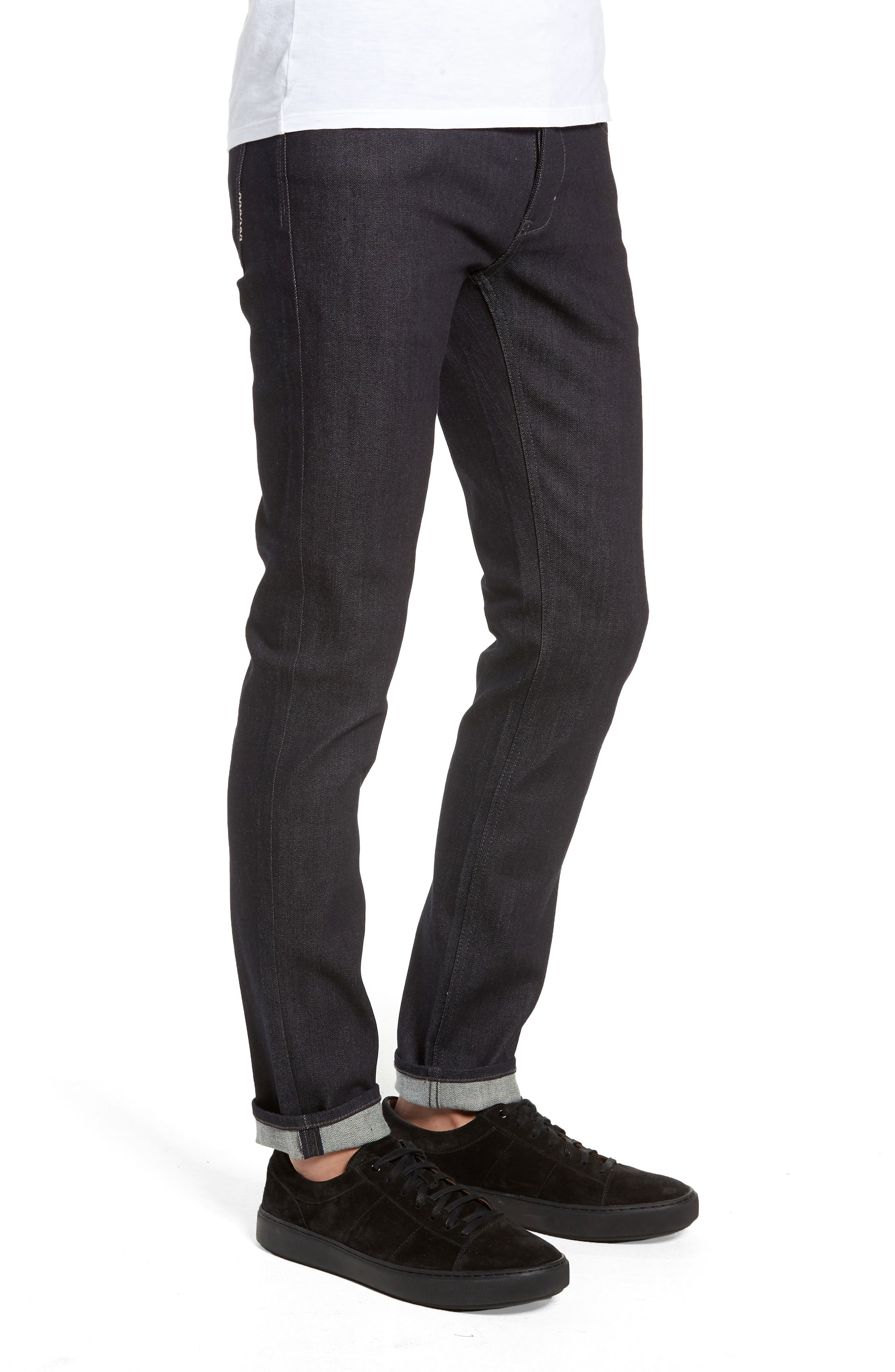 Iggy Skinny Fit Jeans,                             Alternate thumbnail 3, color,                             DRY