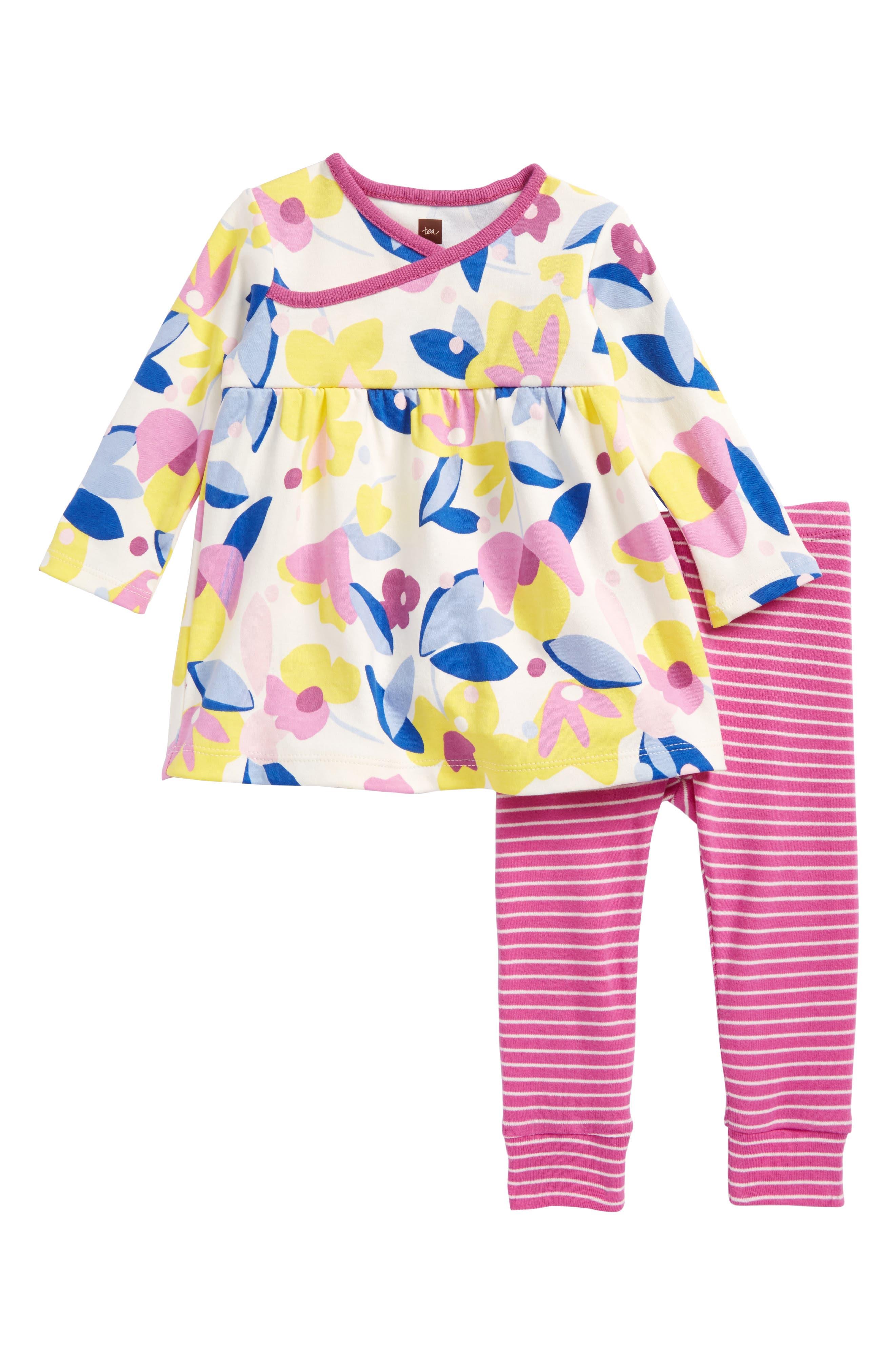 Print Tunic & Leggings Set,                         Main,                         color,
