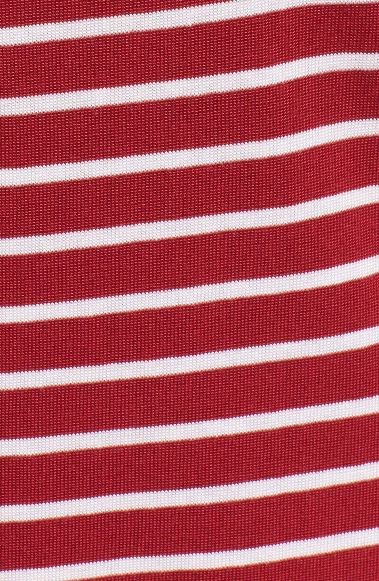 Dalmore Stripe Jersey Sleeveless Shift Dress,                             Alternate thumbnail 5, color,                             630