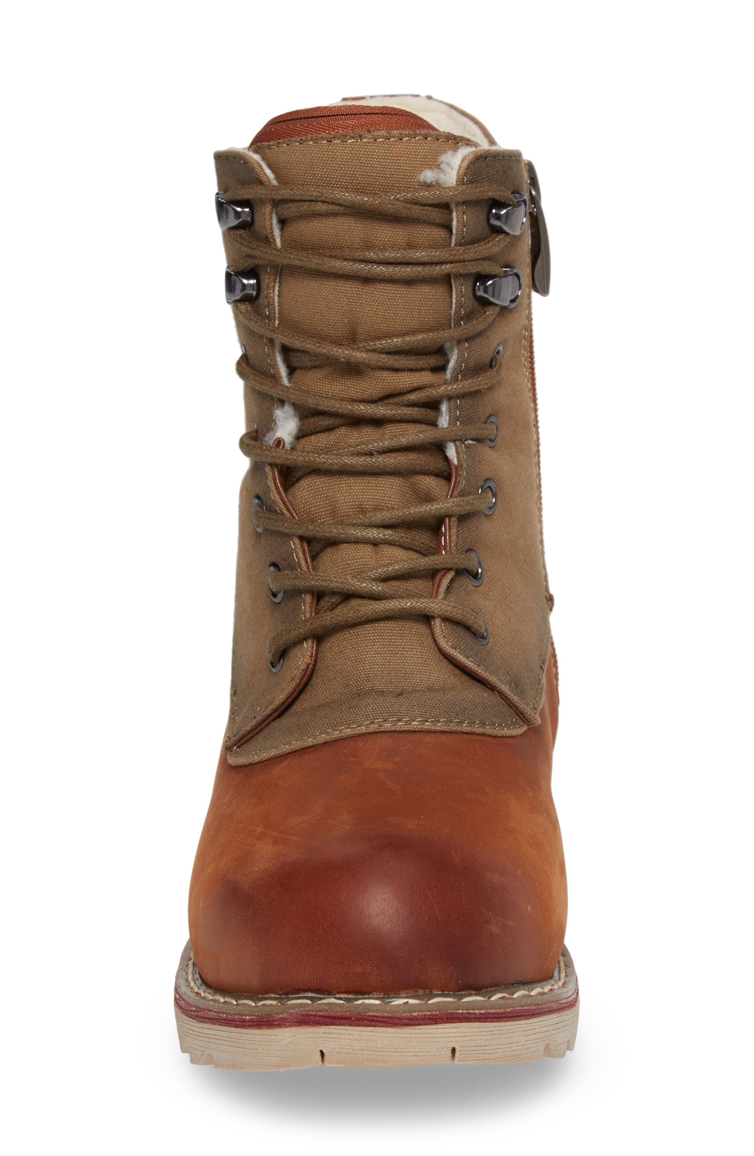 LaSalle Waterproof Insulated Winter Boot,                             Alternate thumbnail 8, color,
