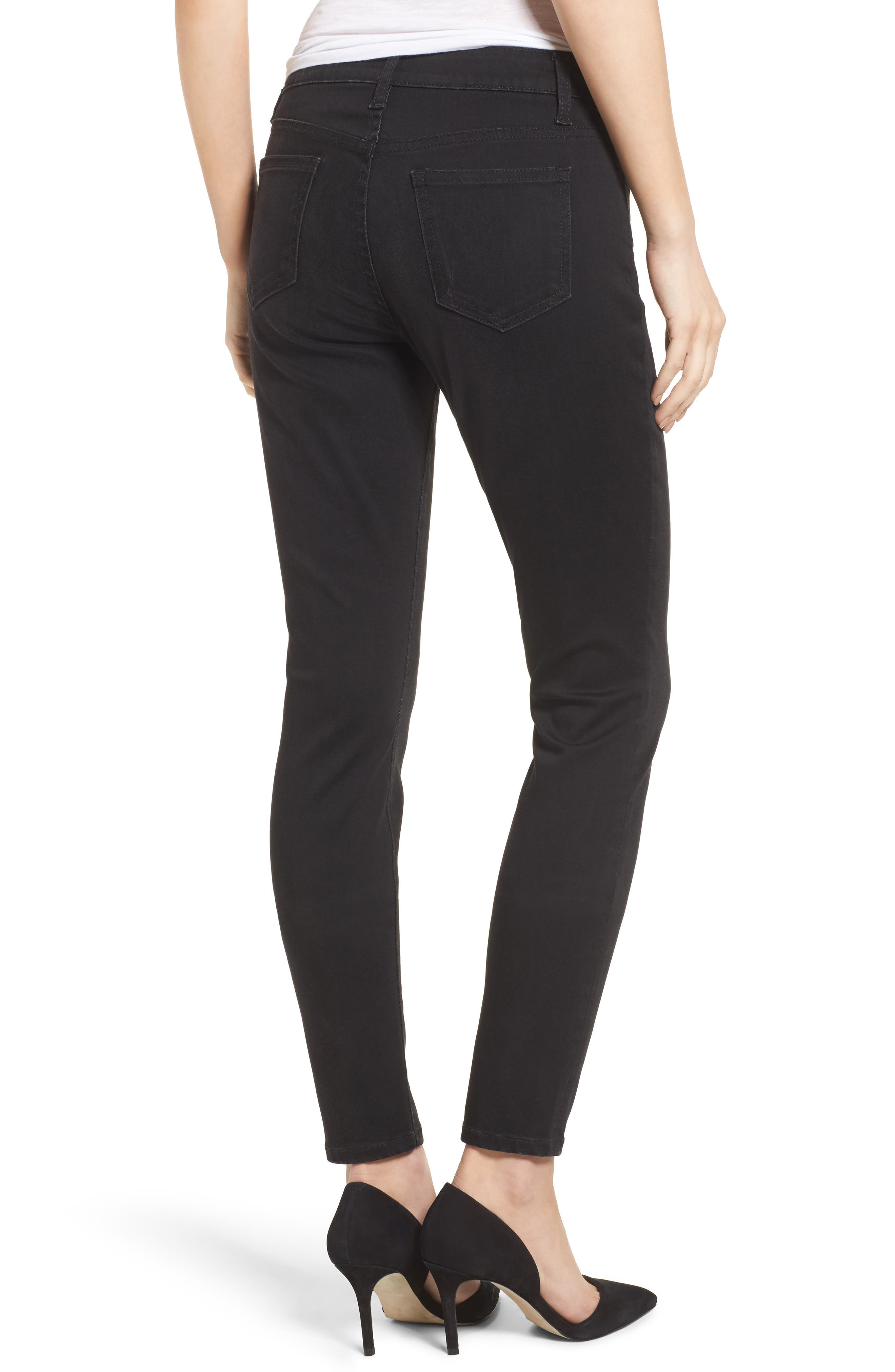Mia Curvy Fit Skinny Jeans,                             Alternate thumbnail 2, color,                             002