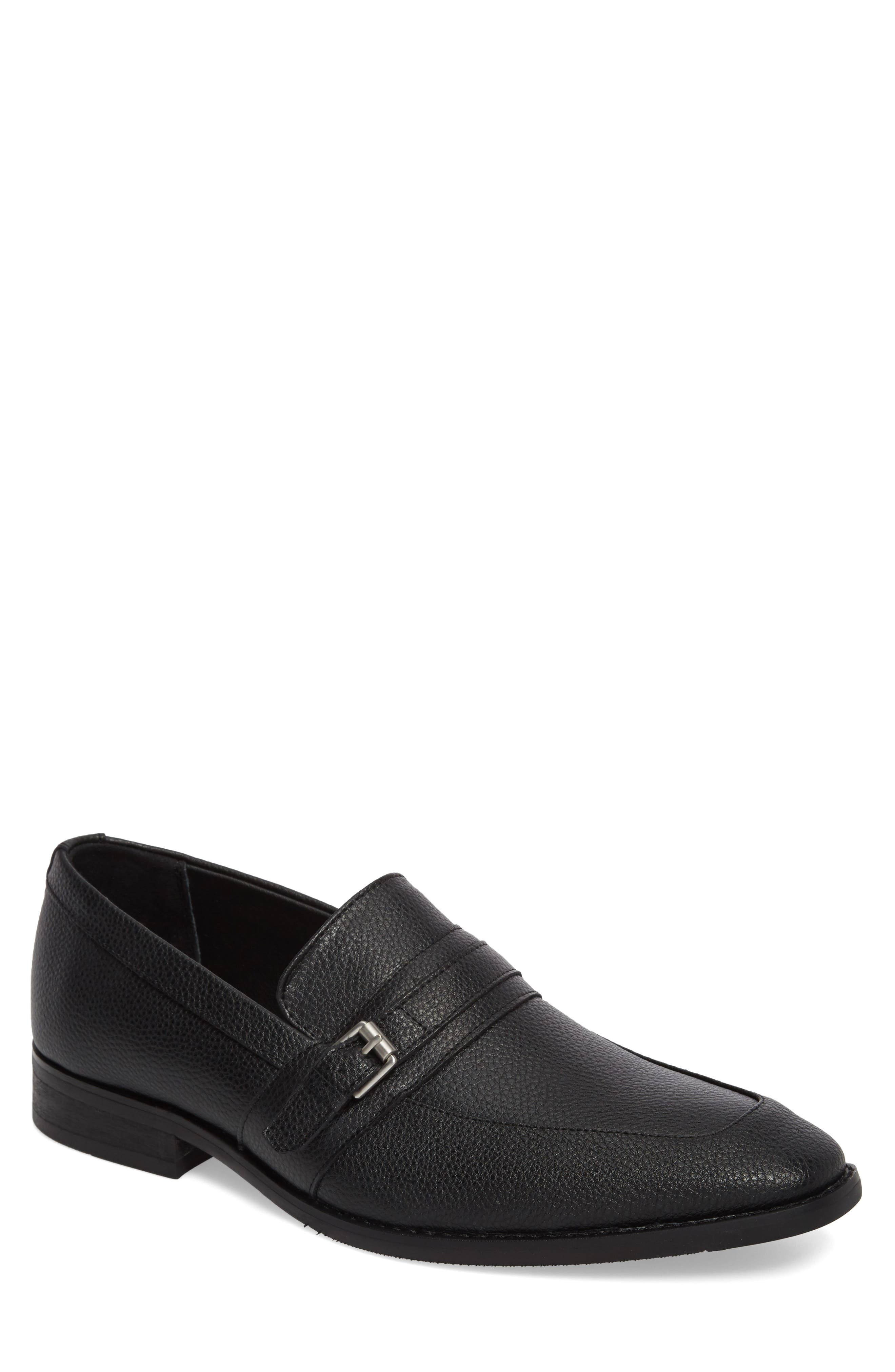 CALVIN KLEIN,                             Reyes Loafer,                             Main thumbnail 1, color,                             001