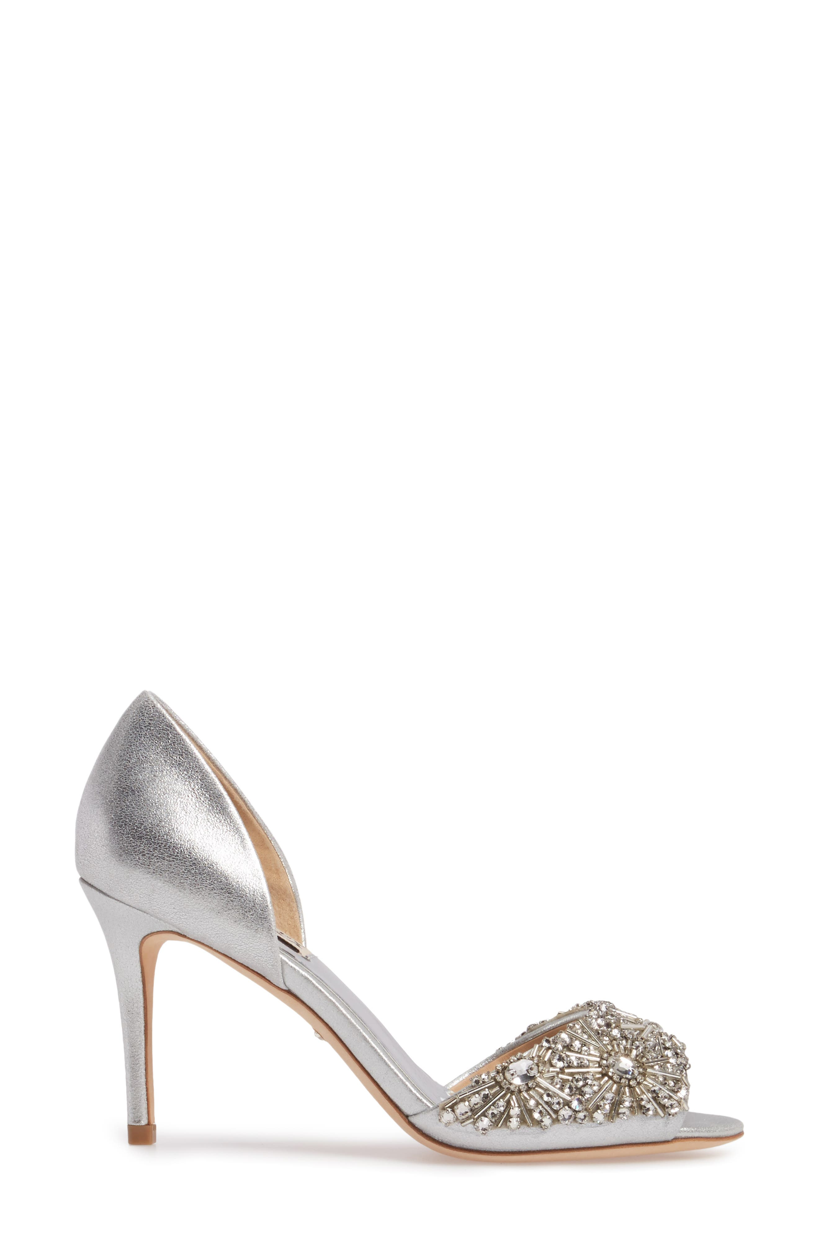 Maria Embellished d'Orsay Pump,                             Alternate thumbnail 14, color,