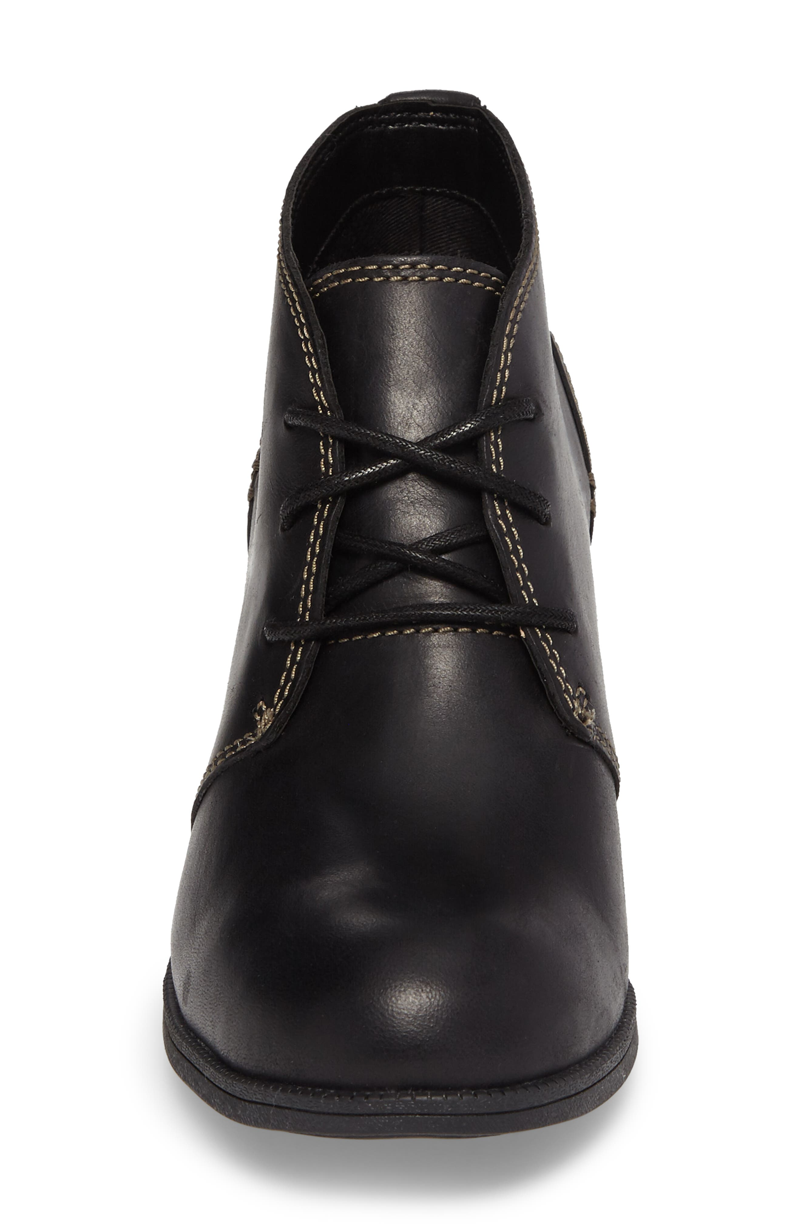 Maypearl Floral Boot,                             Alternate thumbnail 4, color,                             001