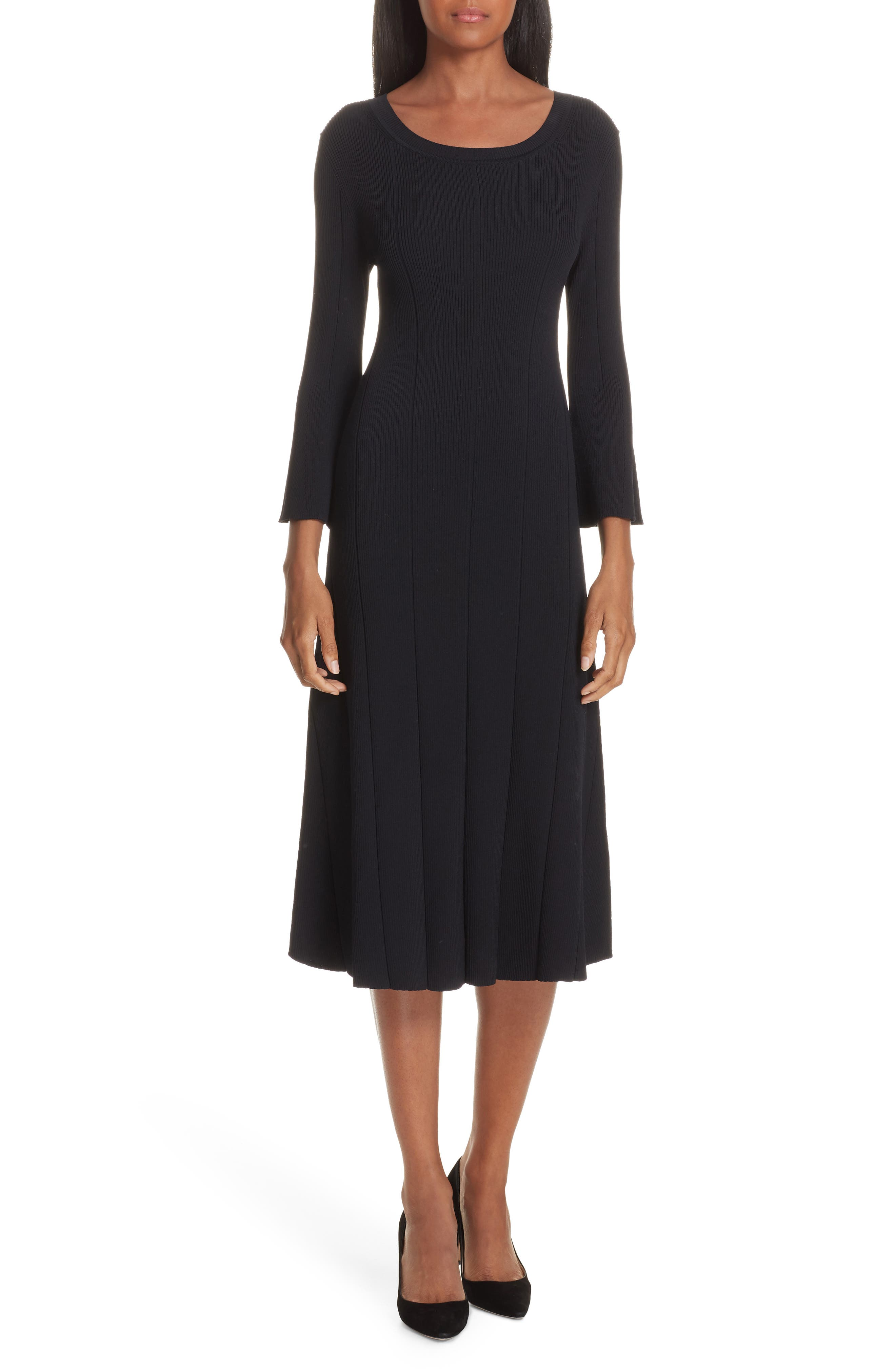 Boss Fenidi Sweater Dress, Blue