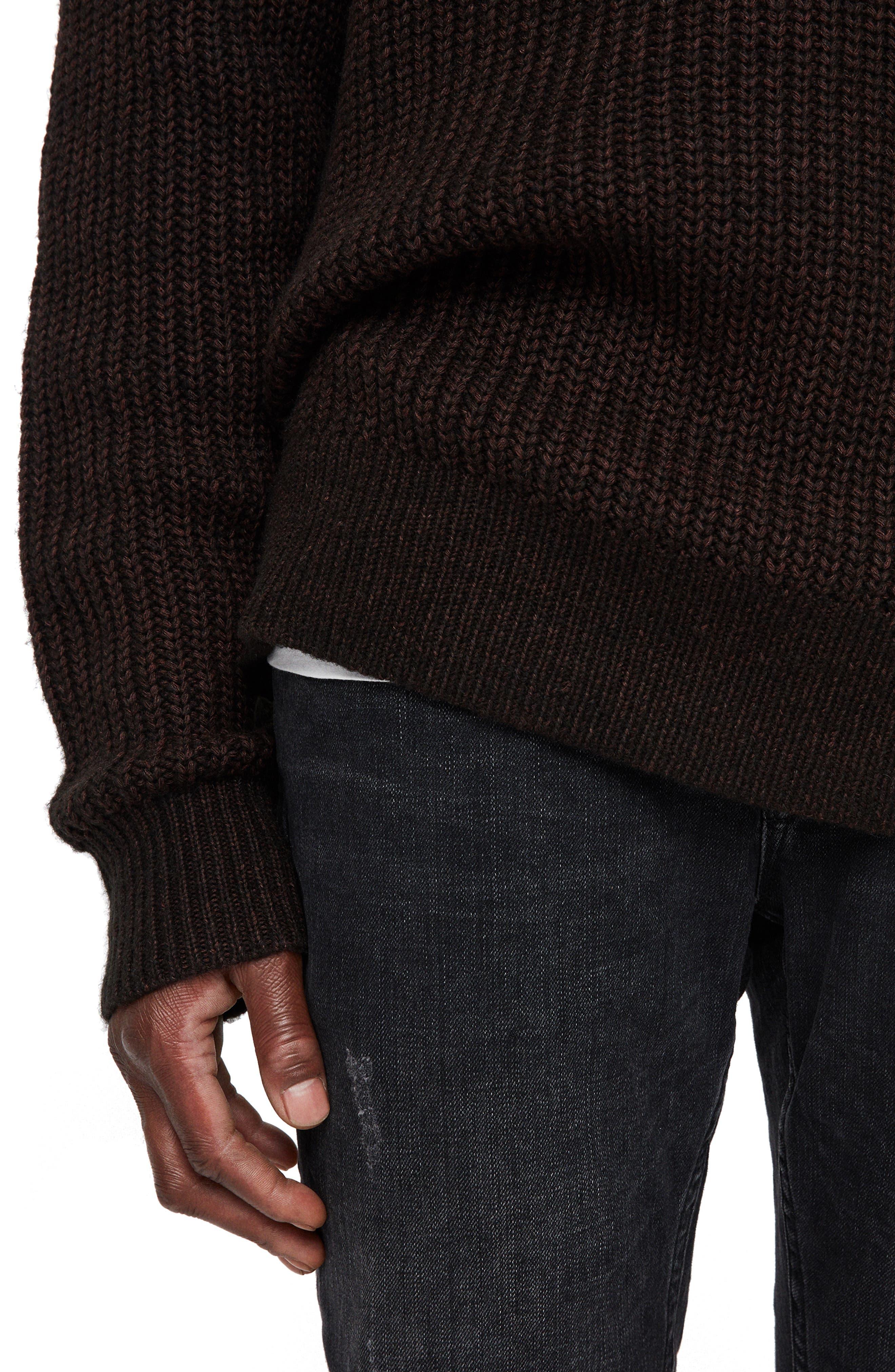 Tilman Regular Fit Sweater,                             Alternate thumbnail 5, color,                             001