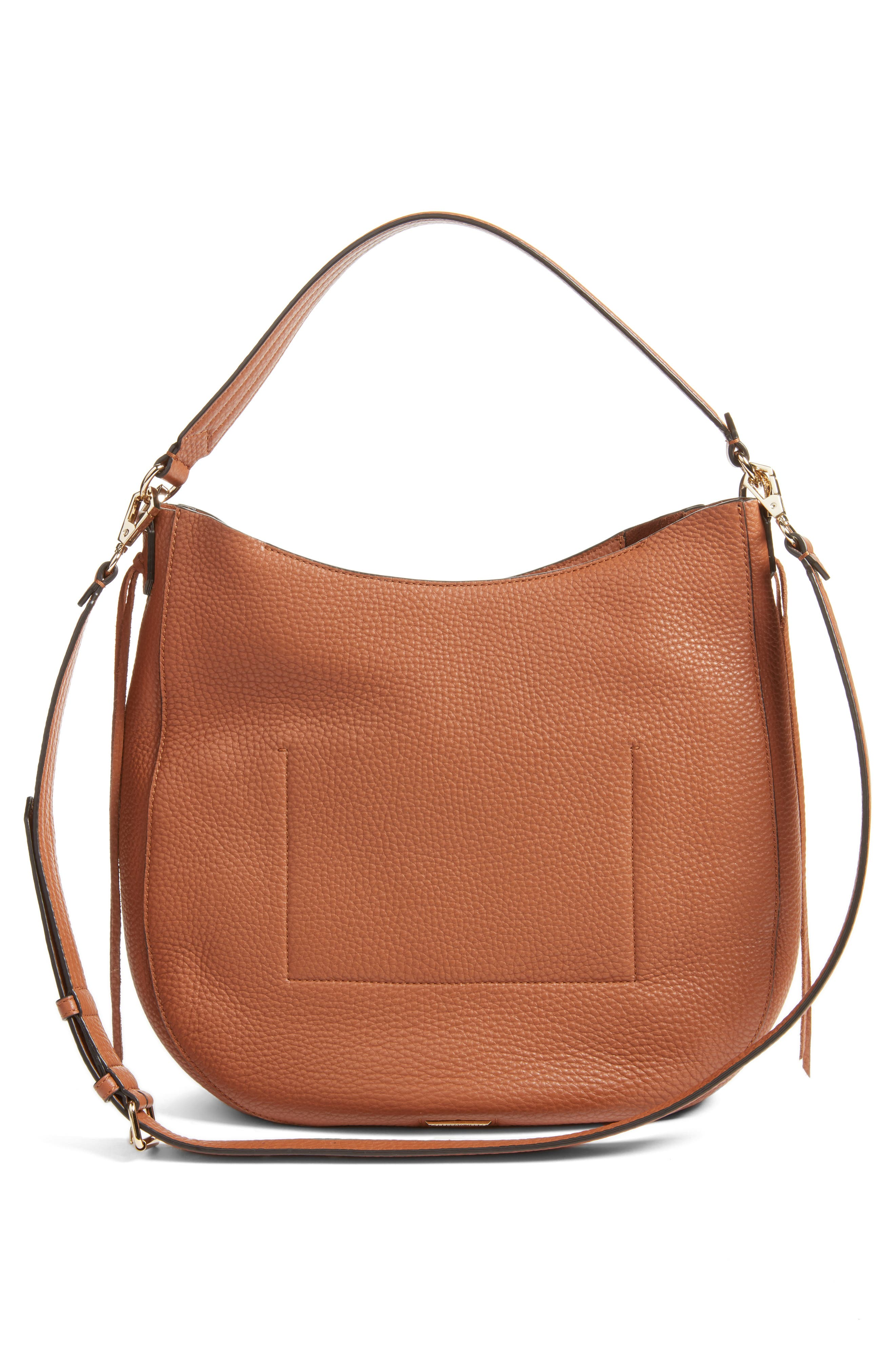 Unlined Convertible Whipstitch Hobo,                             Alternate thumbnail 18, color,