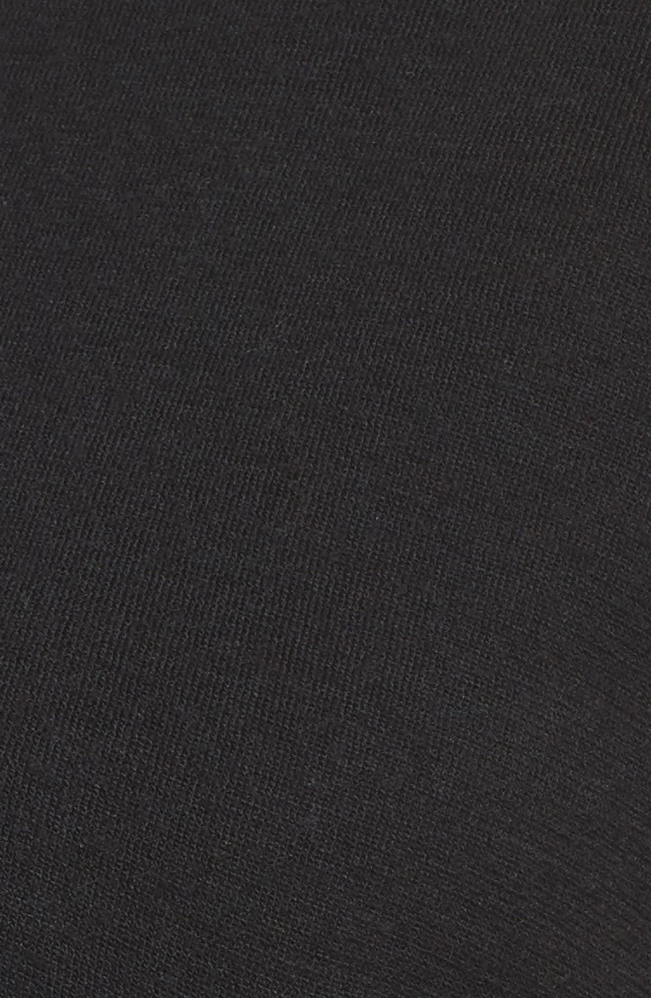 Lizy Track Jacket,                             Alternate thumbnail 5, color,                             BLACK