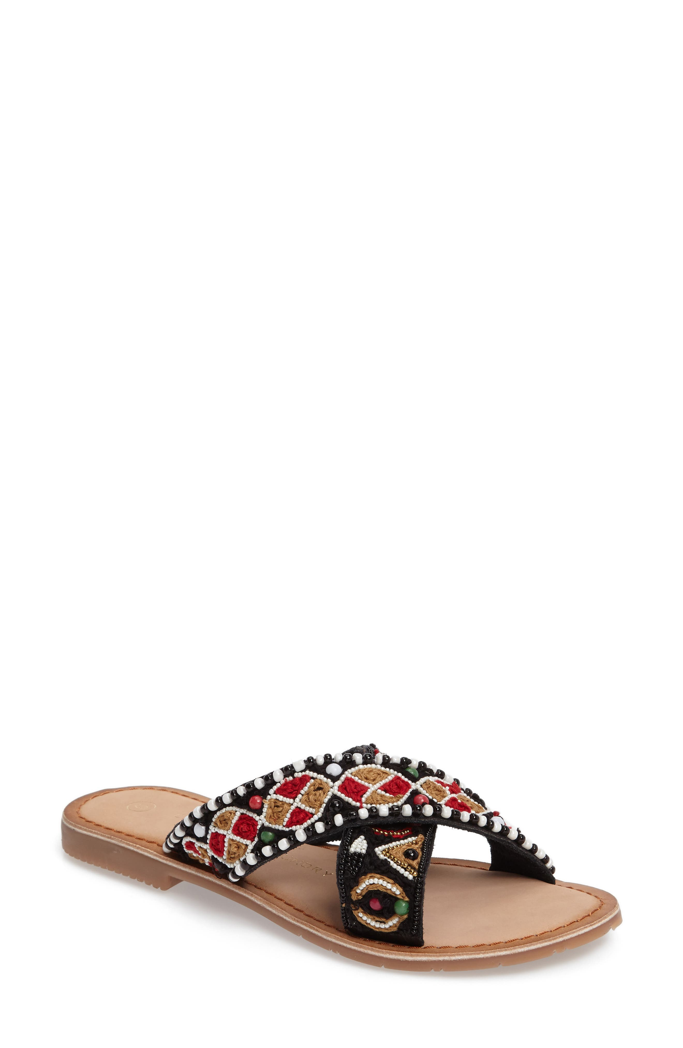 CHINESE LAUNDRY Purfect Slide Sandal, Main, color, 001