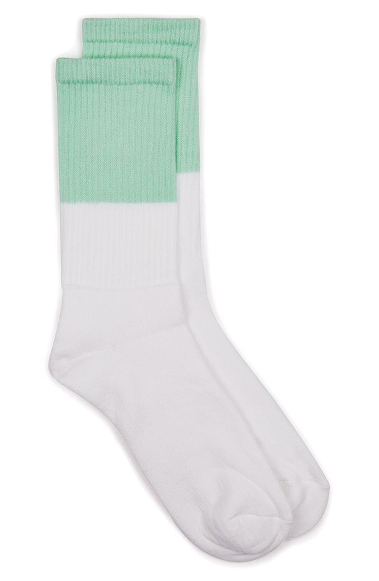 Colorblock Tube Socks,                             Main thumbnail 1, color,                             300