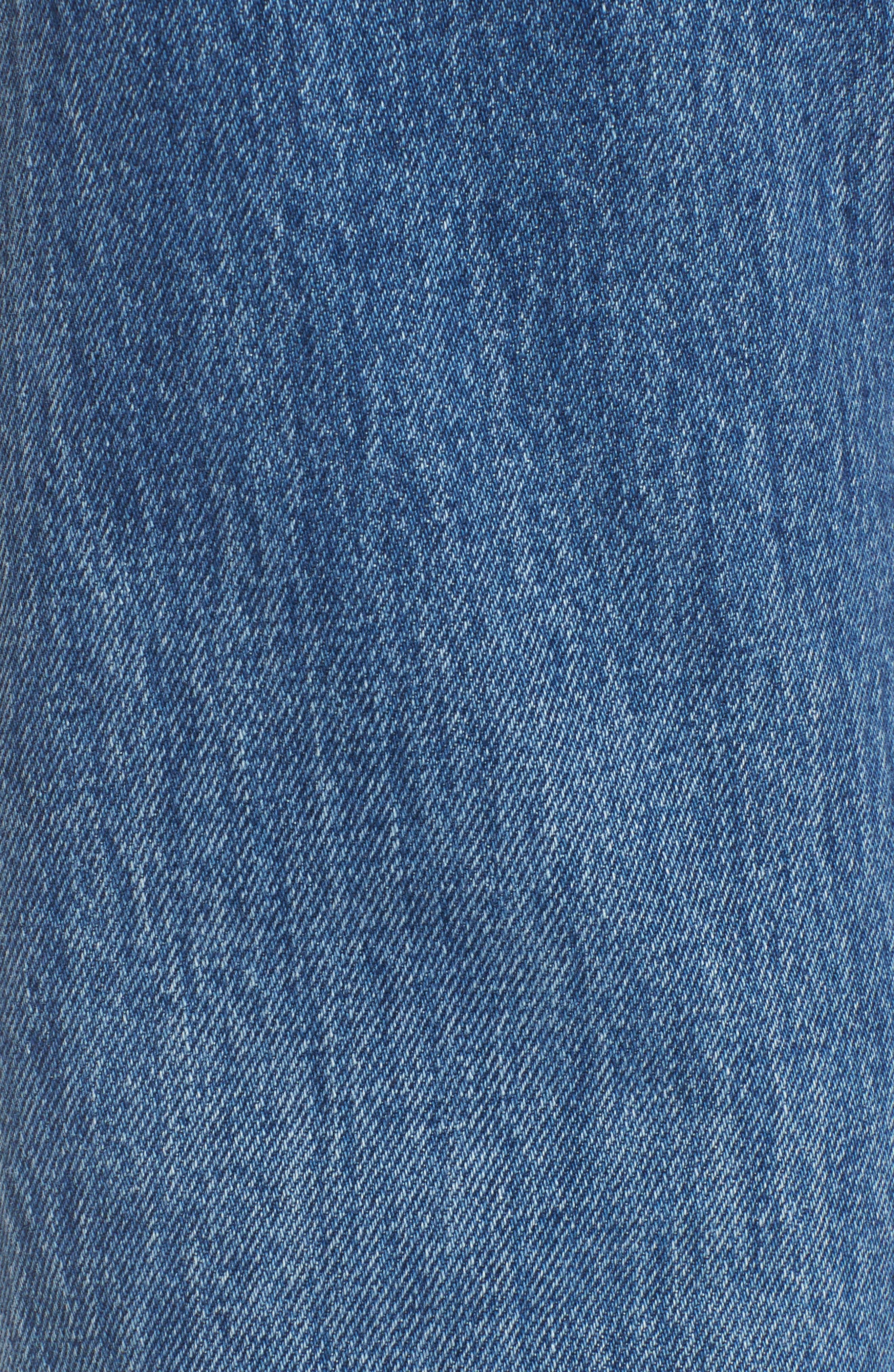Jeans Smith Rhinestone Crop Boyfriend Jeans,                             Alternate thumbnail 5, color,                             450